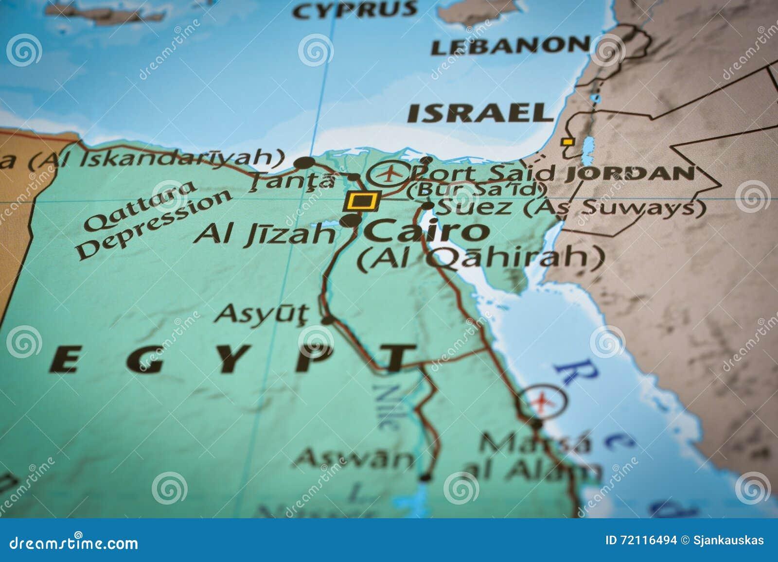 Karte Von Flughafen Agyptens Kairo Stockfoto Bild Von Flughafen