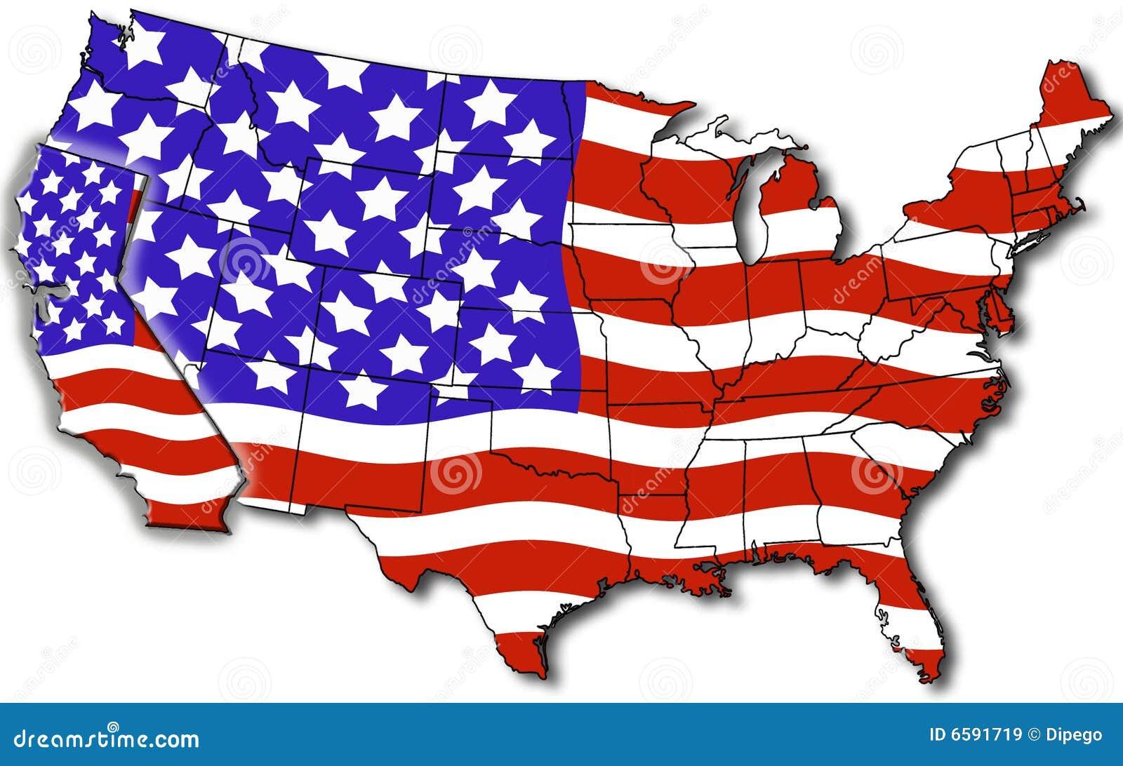 Karte Von Kalifornien Usa Stock Abbildung Illustration Von