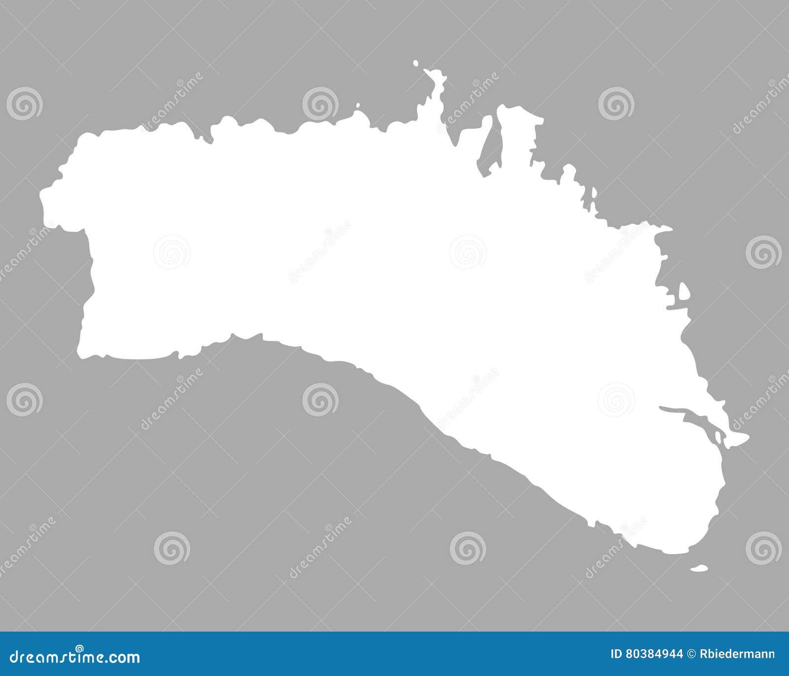 Insel Menorca Karte.Karte Von Menorca Vektor Abbildung Illustration Von Spanien