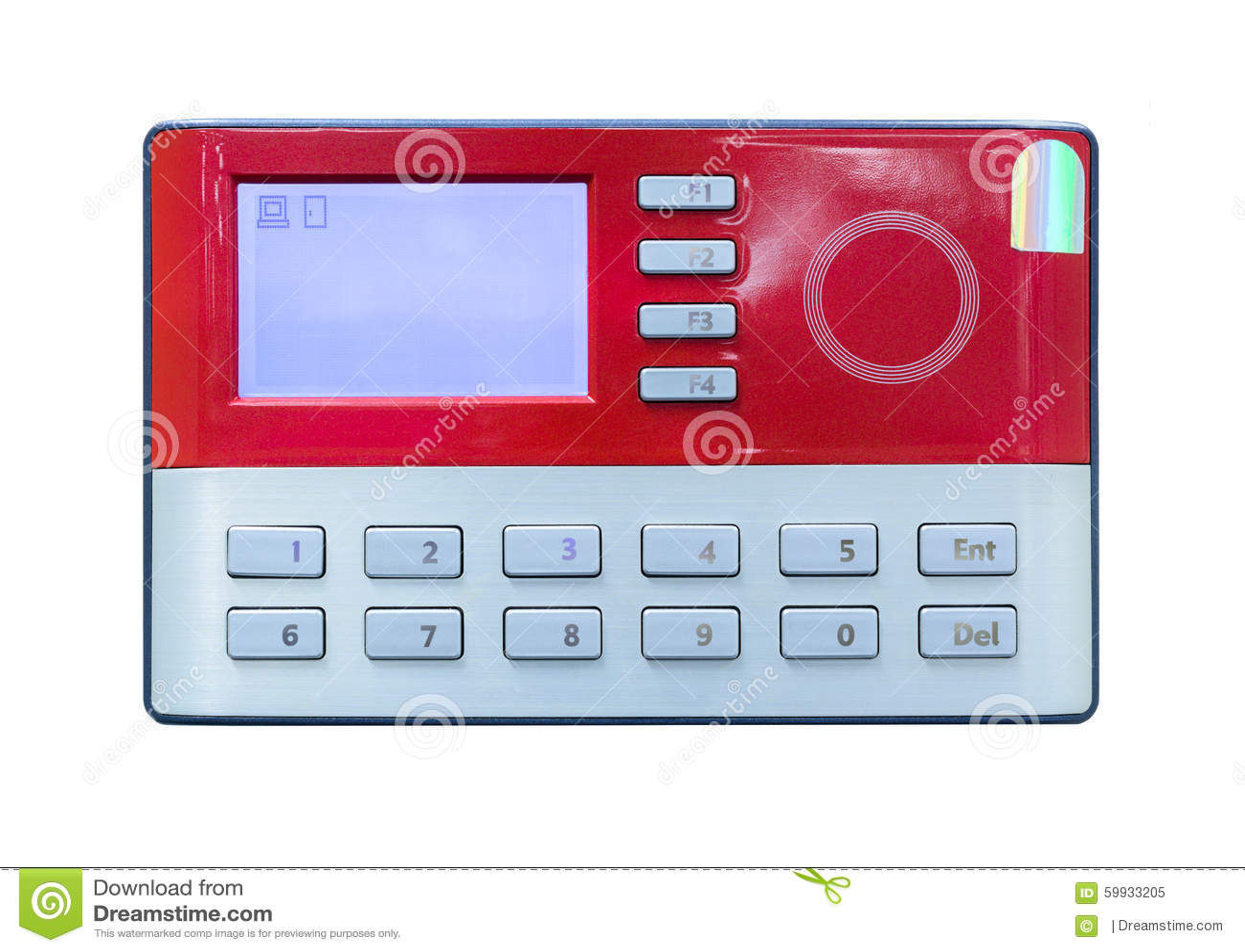 Kartenscan auf Zugriffskontrolle