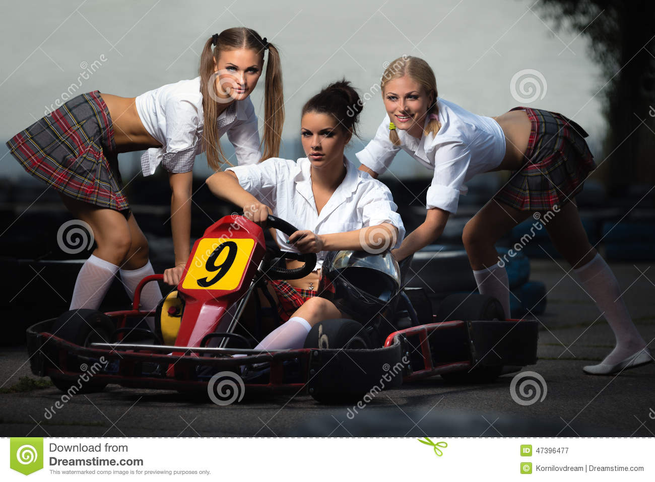 Criticism nude girls on go kart the