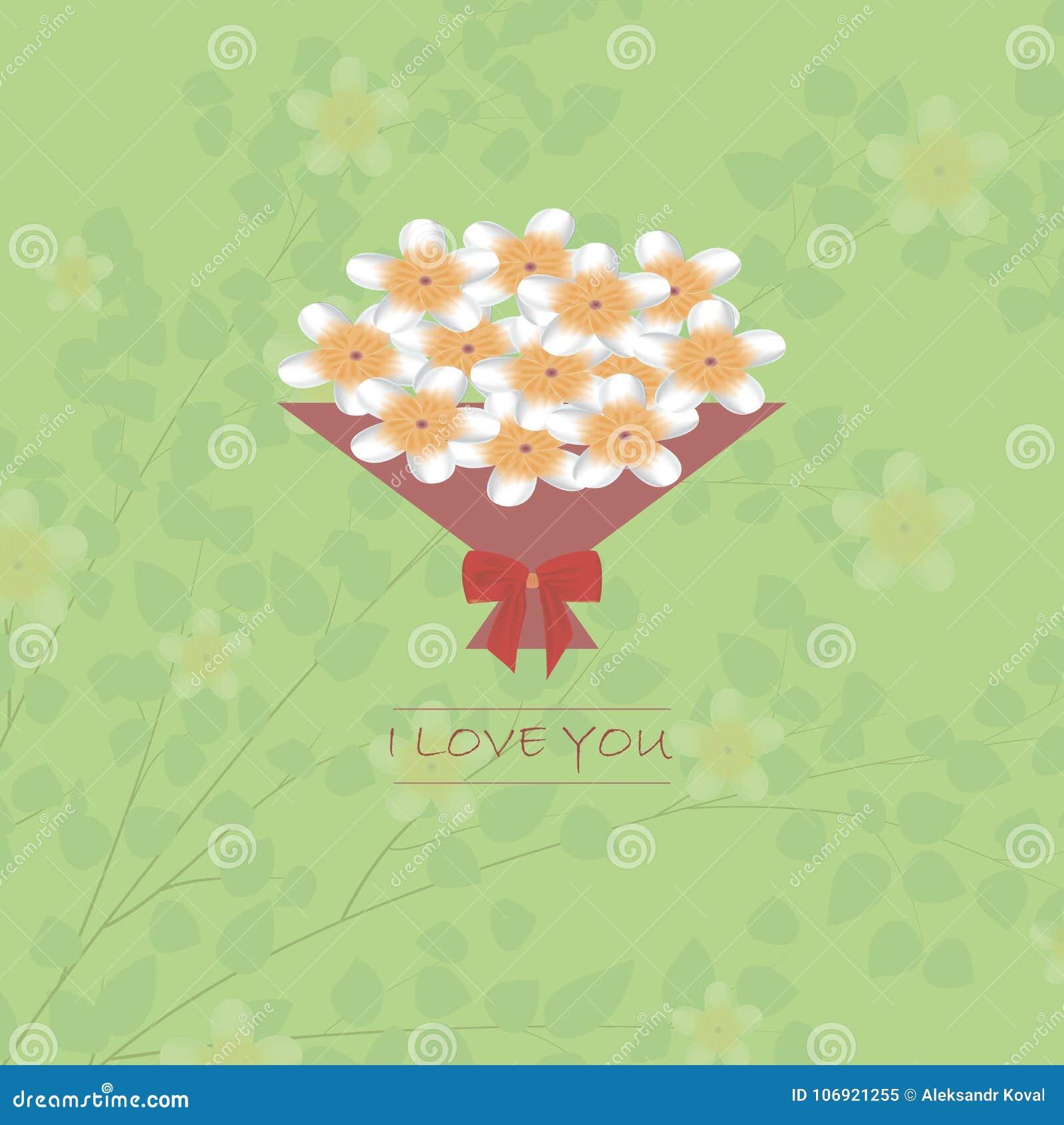 Kartka z pozdrowieniami z walentynki ` s dniem Deklaracja miłość