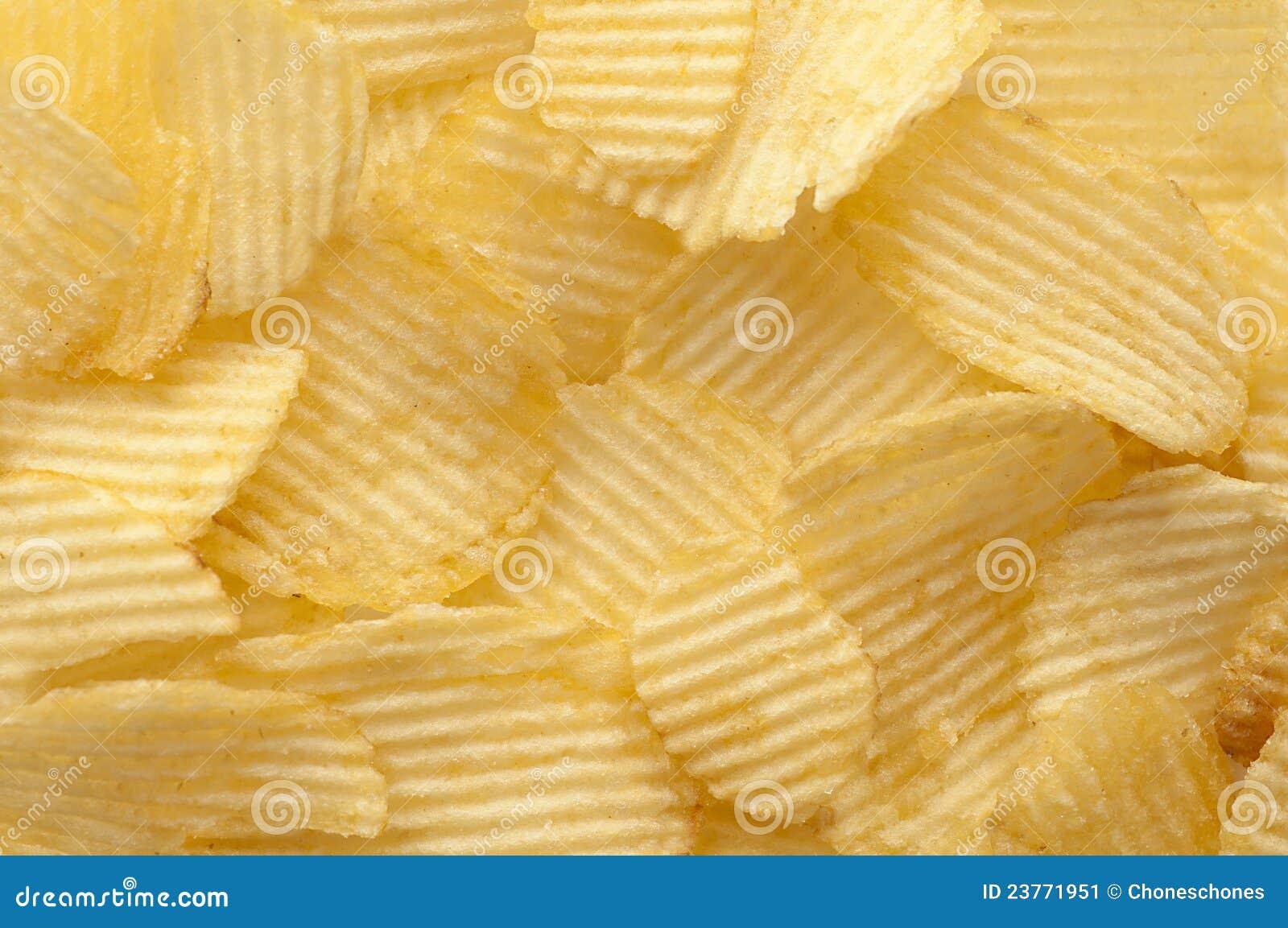 Kartoffelchiphintergrund