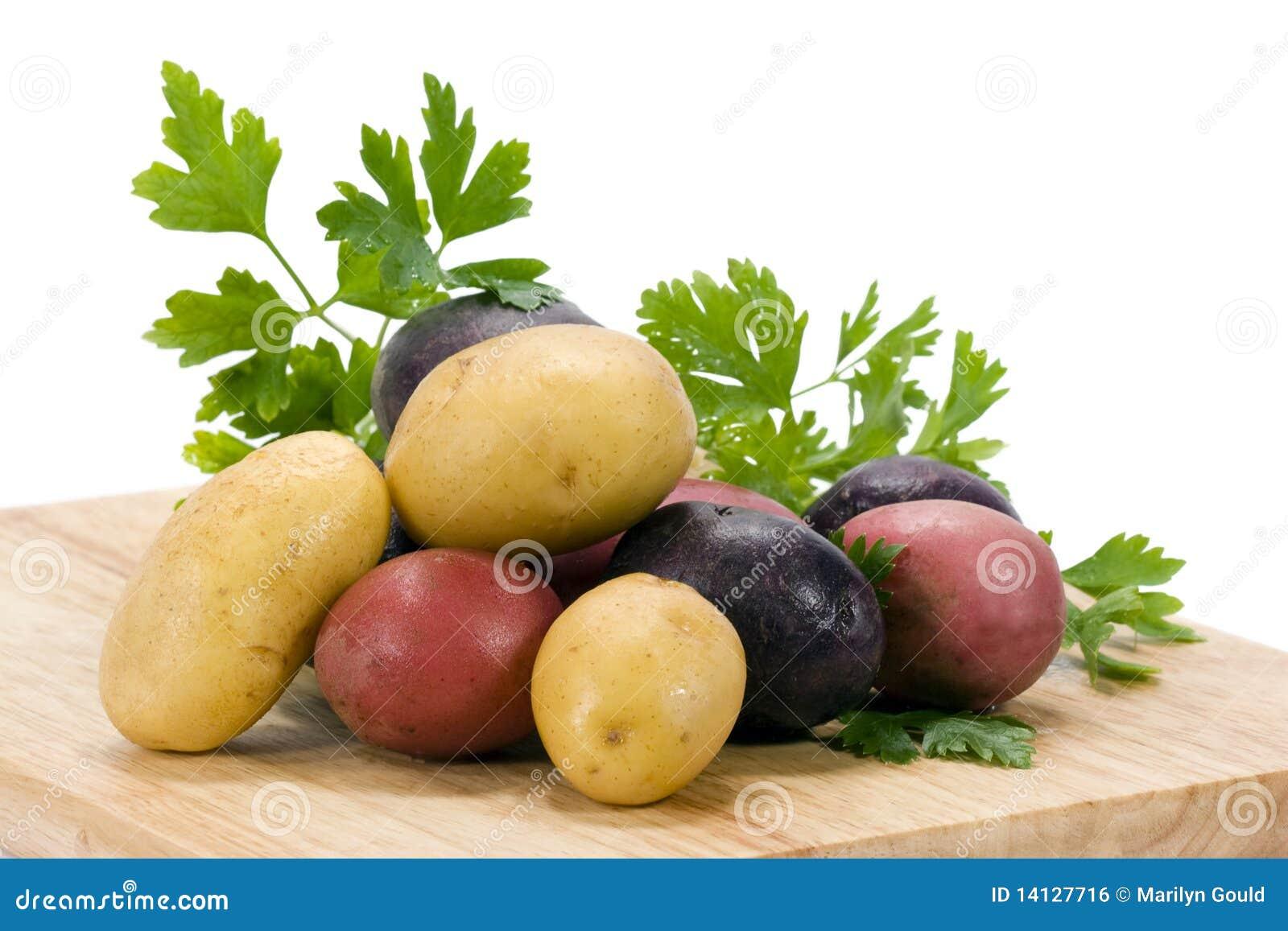 Kartoffeln 3 Farben