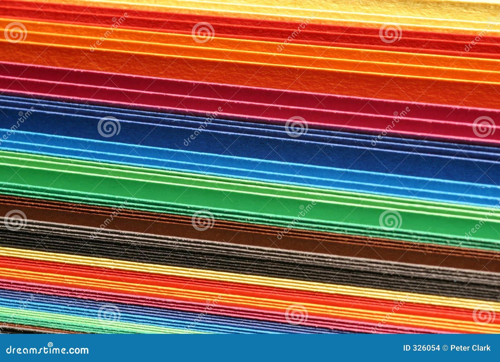 Karton kolorowych