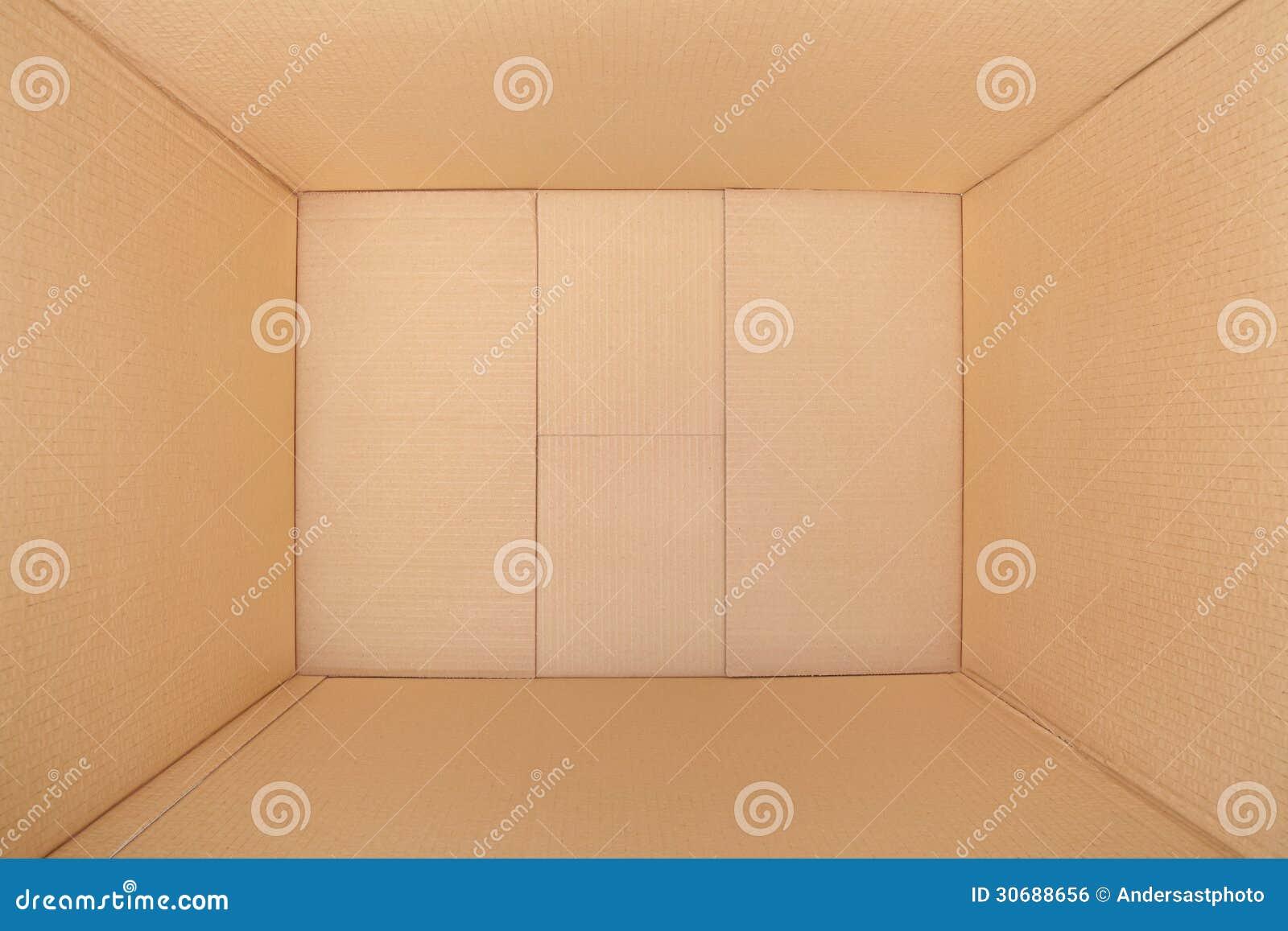 Kartondoos, binnenmening