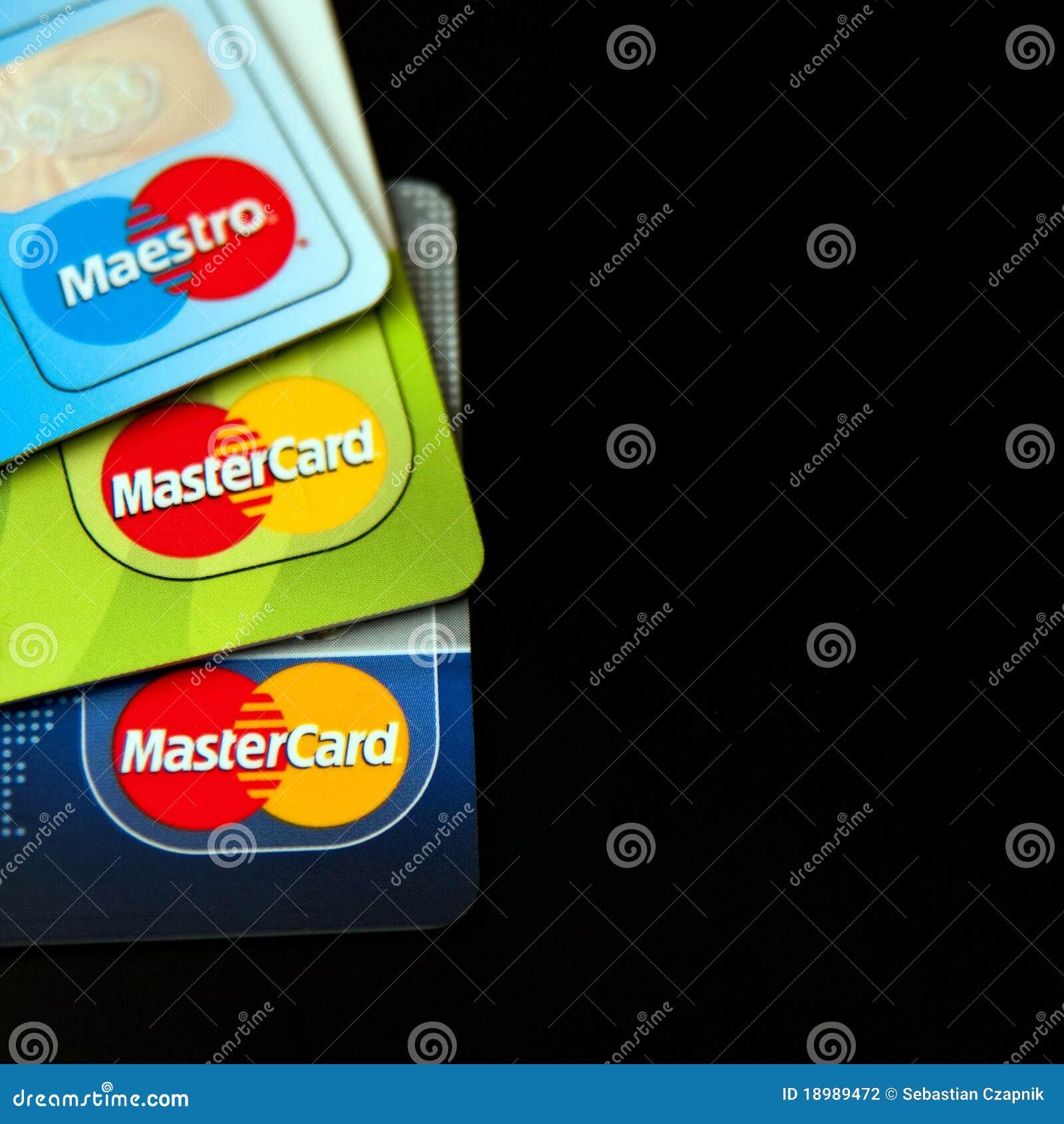 Karty kredytują Mastercard