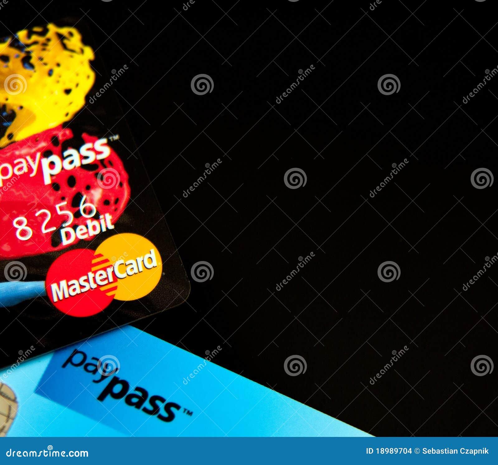 Karty kredytują masterdard paypass