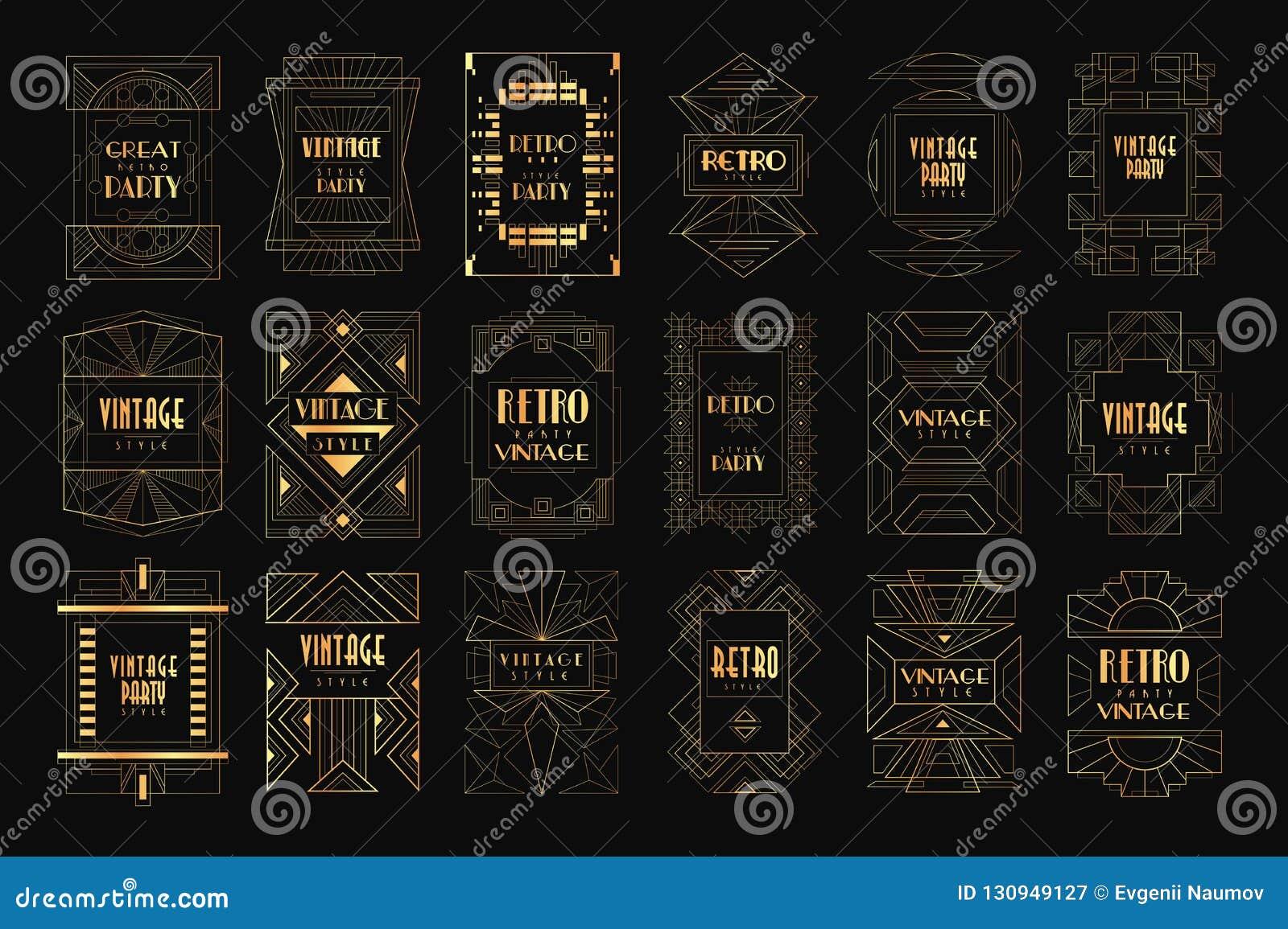 Karty z tradycyjnym azjata wzorem, oryginalny projekt, dekoracyjnej szablon tekstury kolorowe wektorowe ilustracje