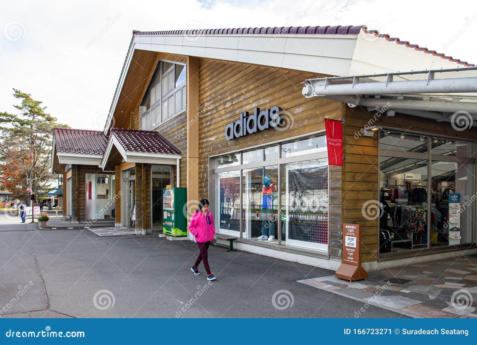 recuperar encima rodar  Adidas Outlet Store In The Karuizawa Prince Shopping Plaza Editorial Photo  - Image of lake, editorial: 166723271