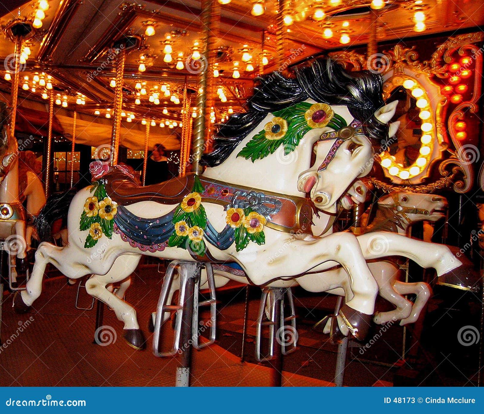 Karussell-Pferd
