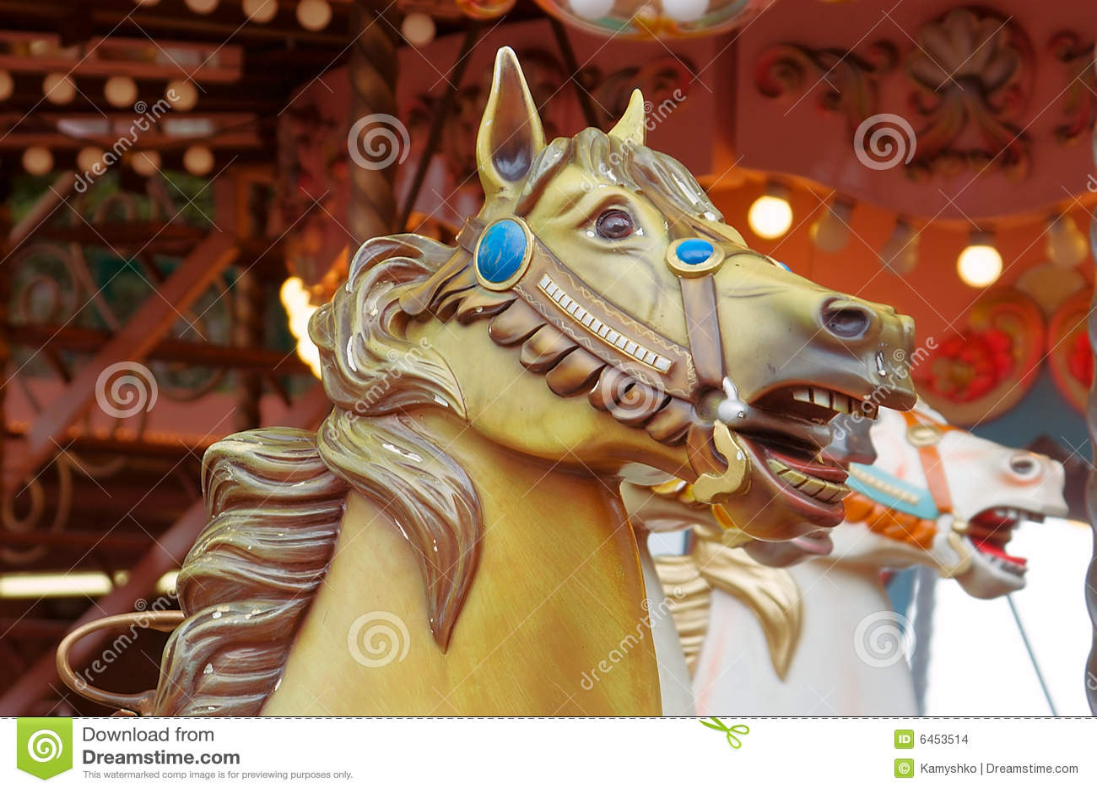 Karuzela głowa konia