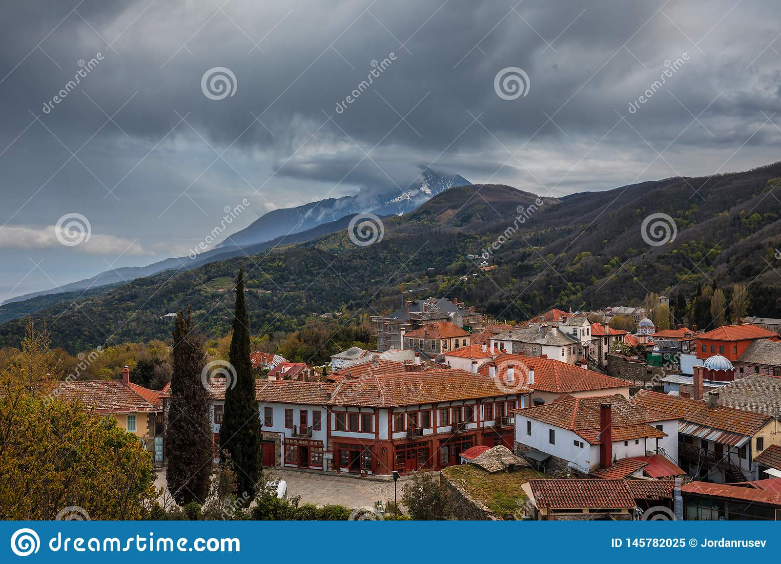 Karyes auf dem Mount Athos
