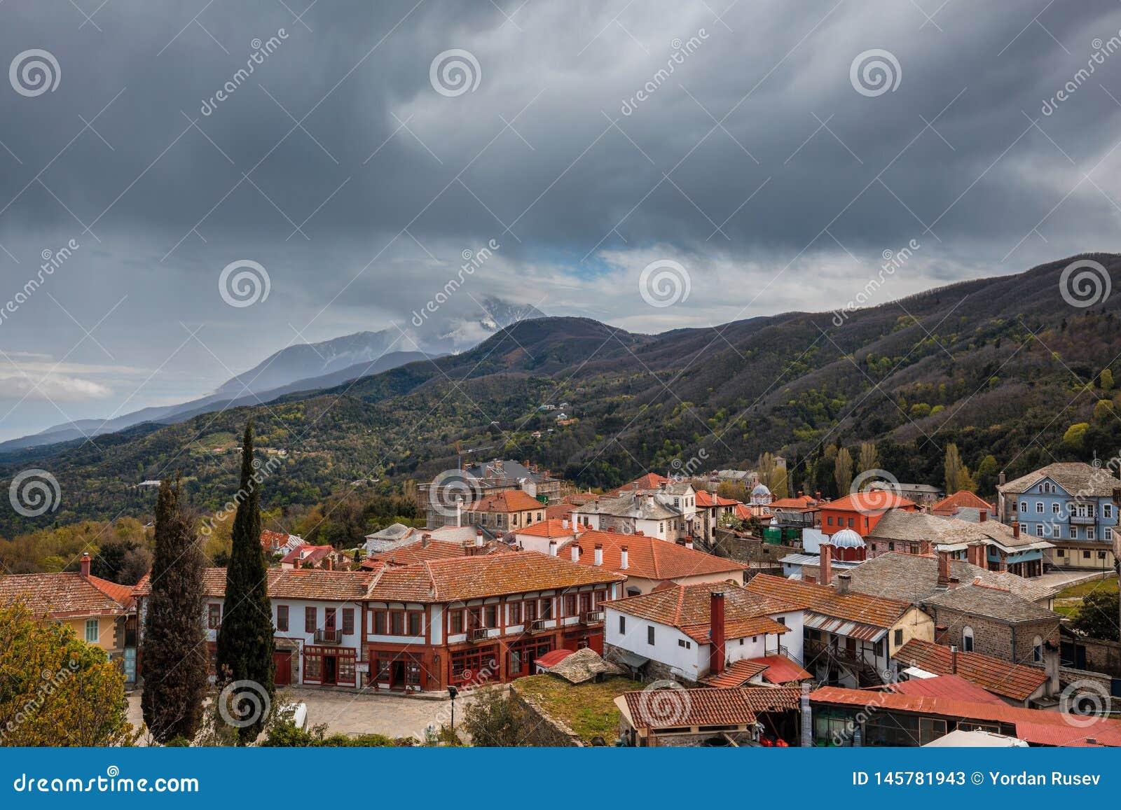 Karyes sul monte Athos