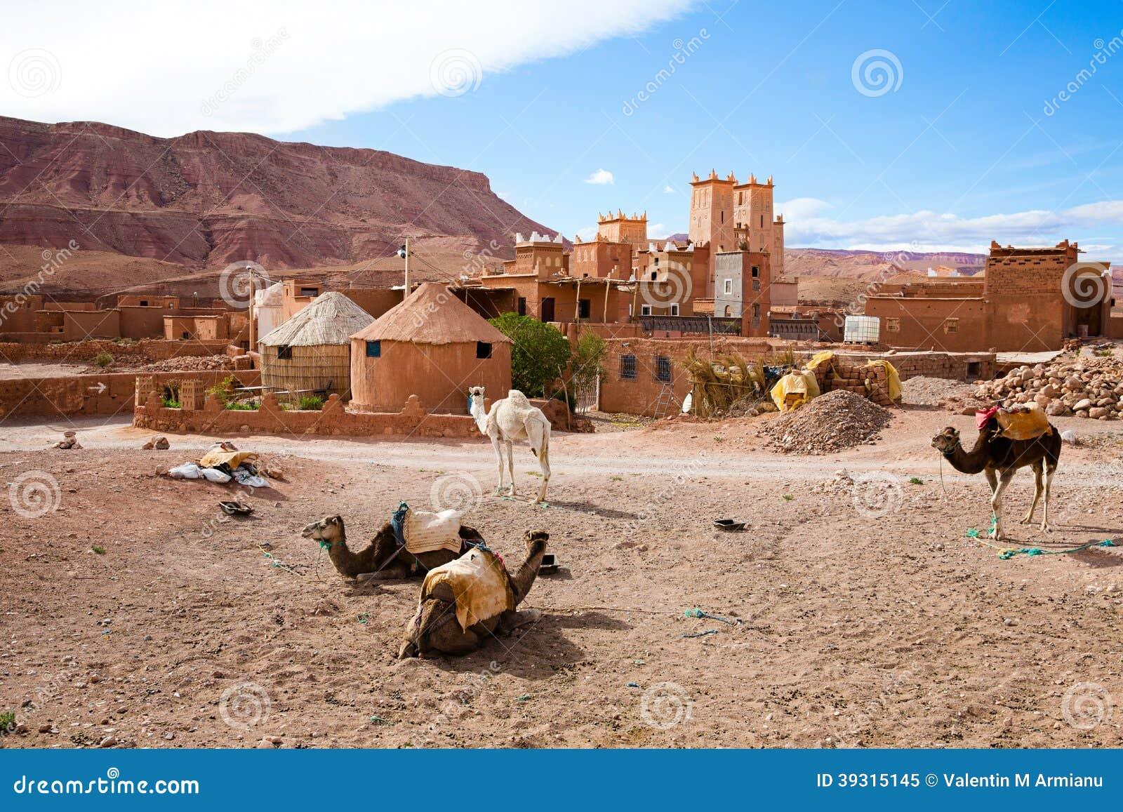 Kasbah在摩洛哥