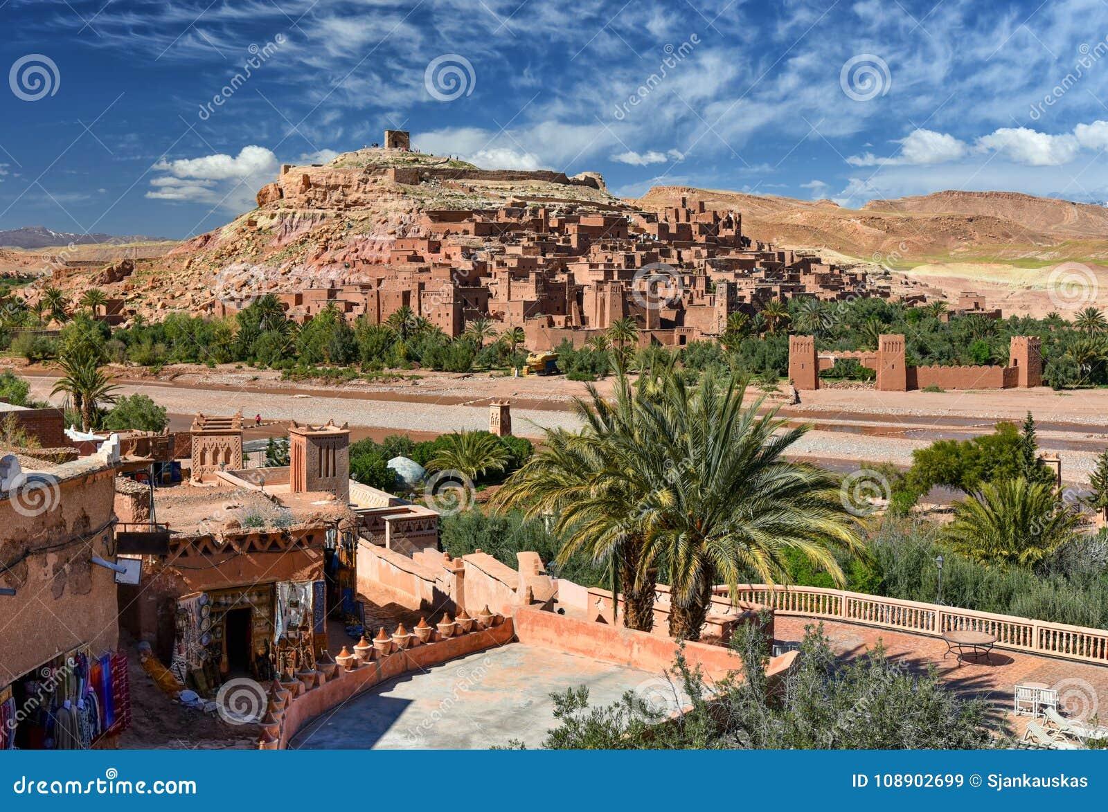 Kasbah Ait Ben Haddou de Ksar, Marrocos