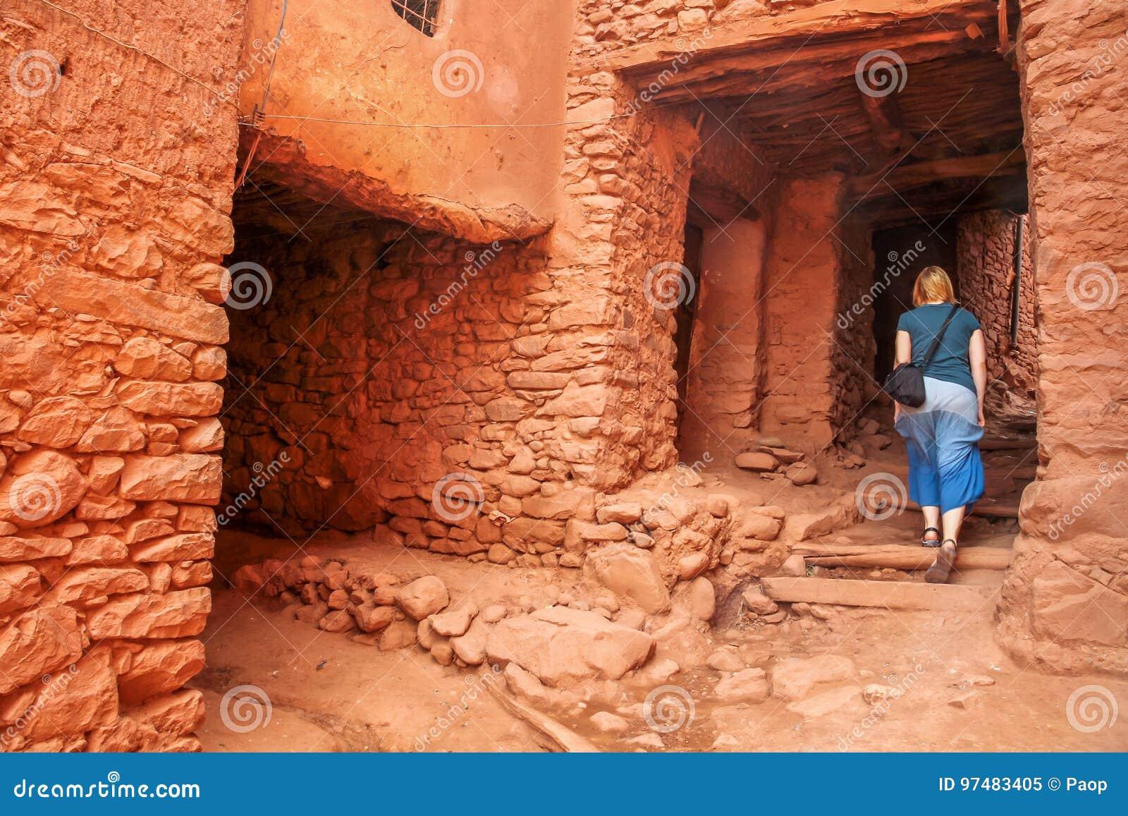 Kasbah di visita del turista