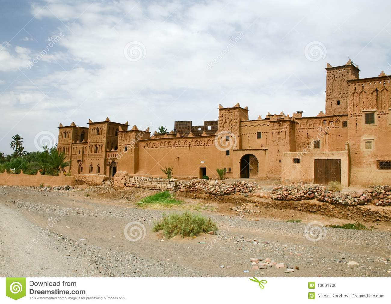 The kasbah in morocco stock photo image 13061700 for Morocco motors erie pa