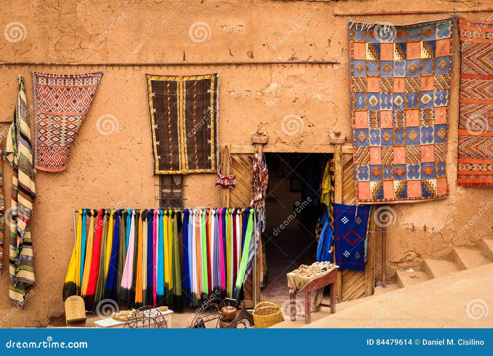 Kasbah Taourirt bazar Ouarzazate morocco