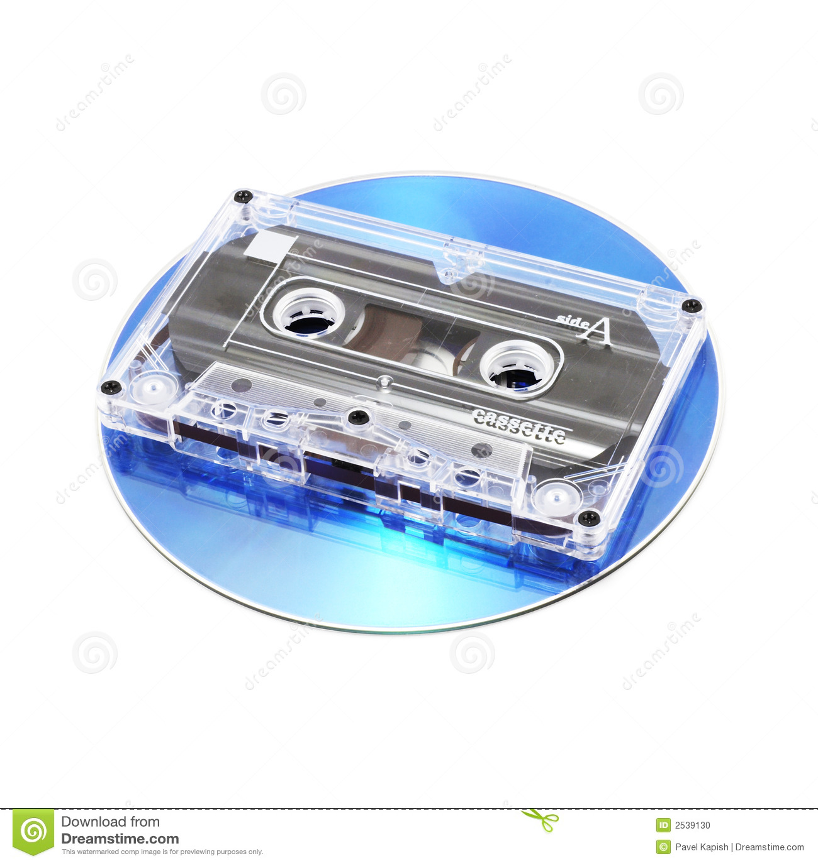 Kaseta cd taśmy