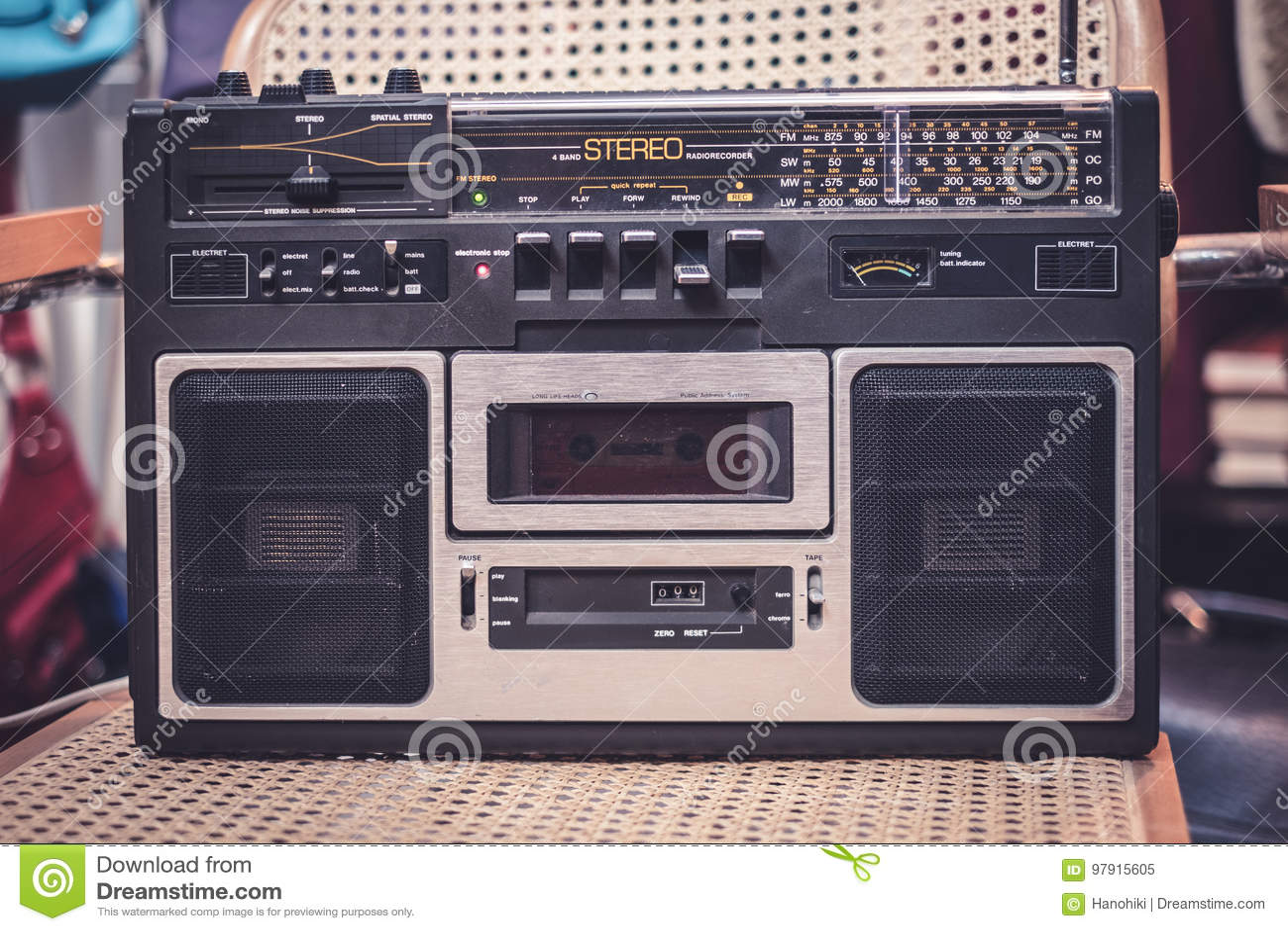 Kaseta pisak, audio gracz/- 80s radio