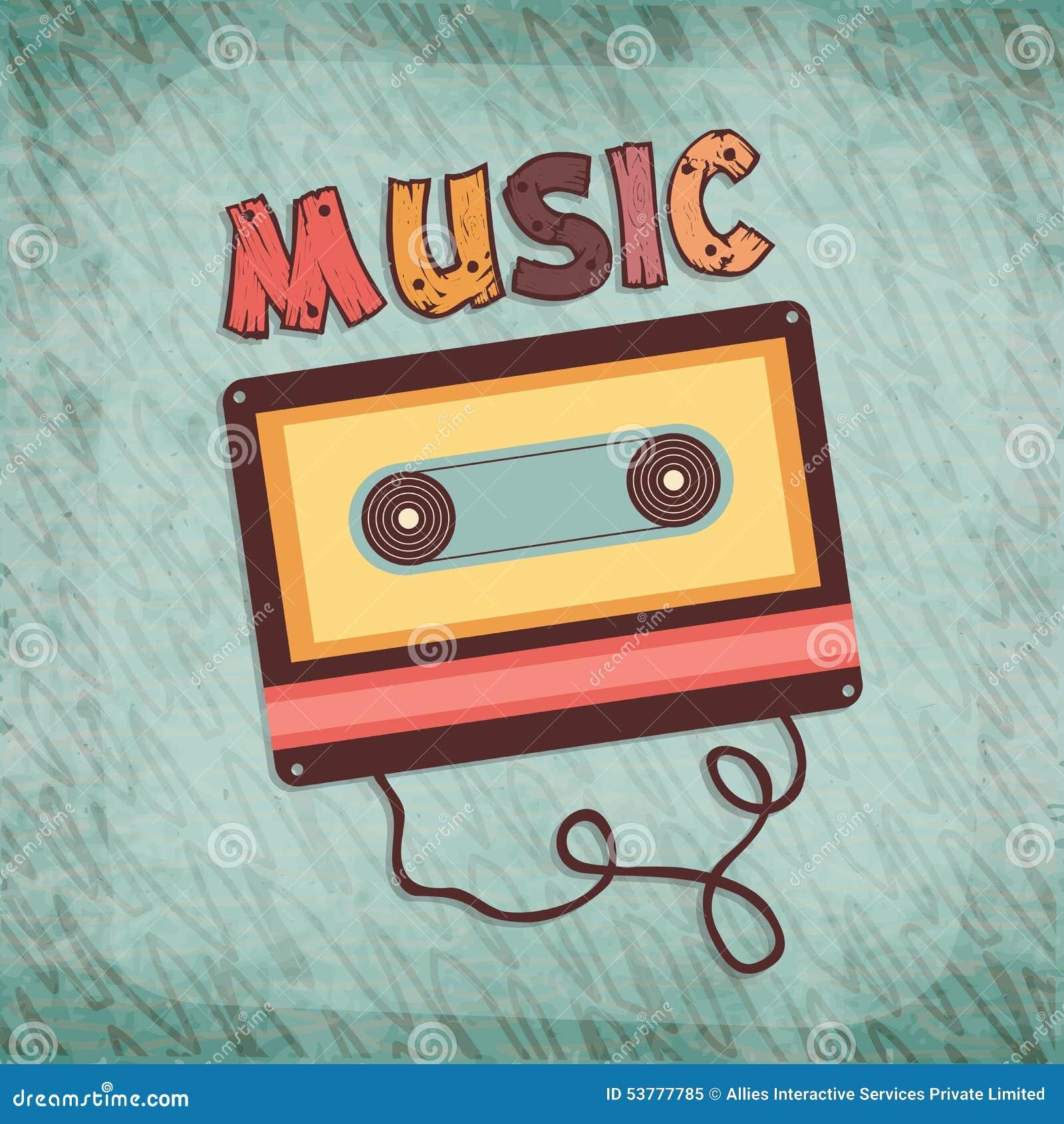Kasety taśma dla muzyki