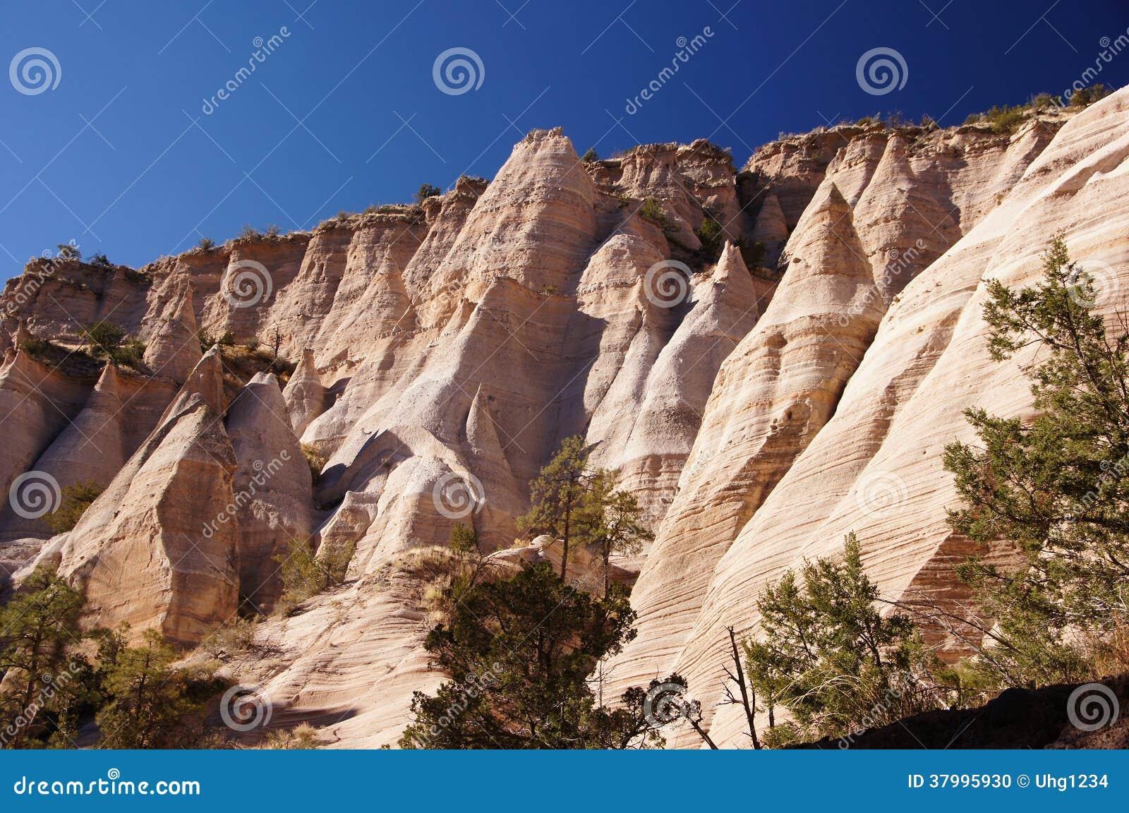 KashaKatuwe Tent Rocks National Monument New Mexico USA