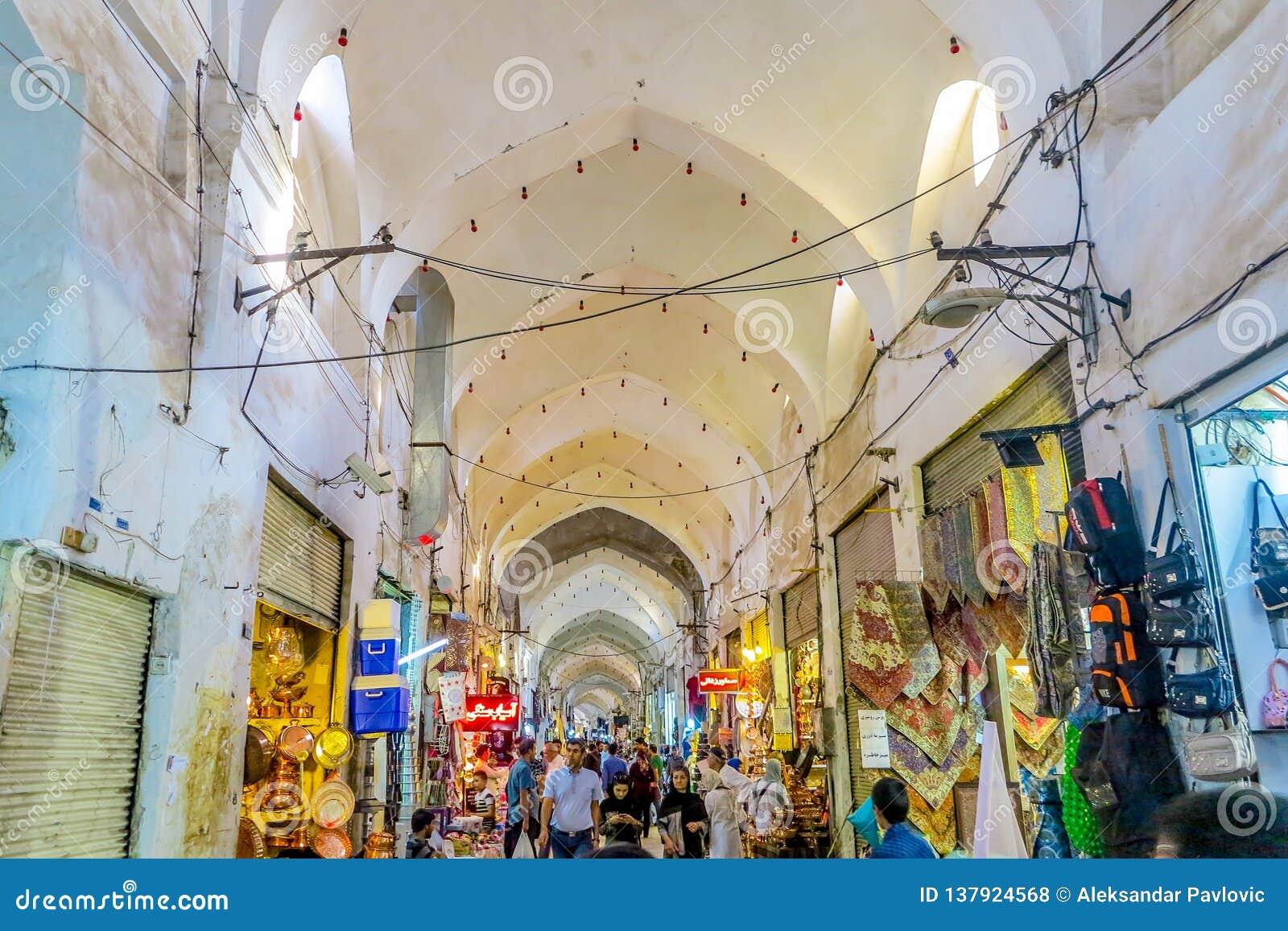 Kashan μεγάλο Bazaar 08