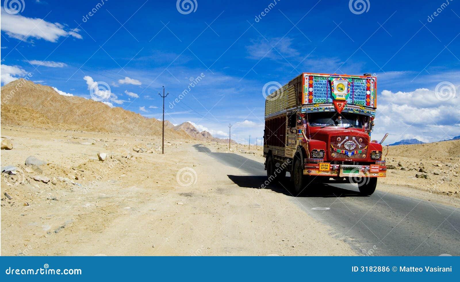Kashmiri truck