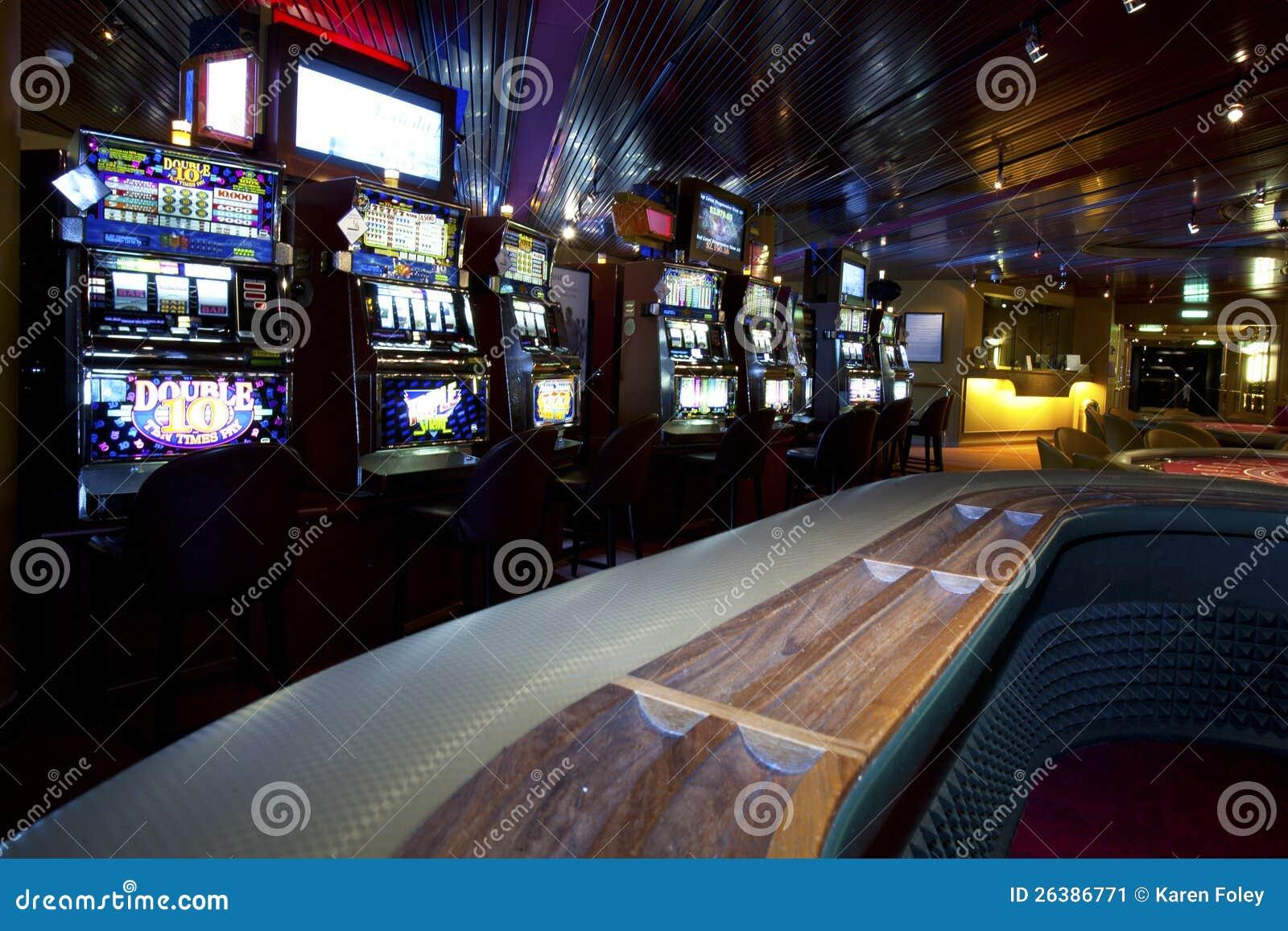 Kasino med enarmad bandit