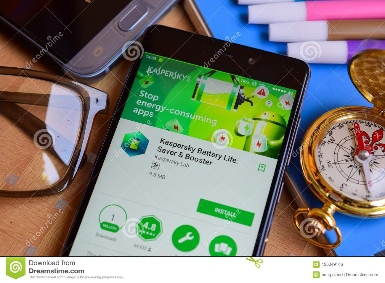 Kaspersky Battery Life: Saver & Booster Dev App On