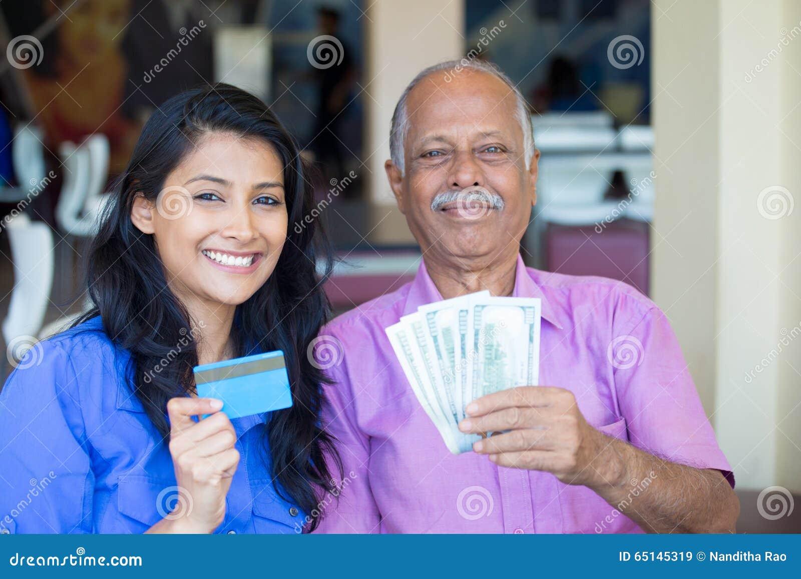 Kassa pengar, kreditering, utbyte