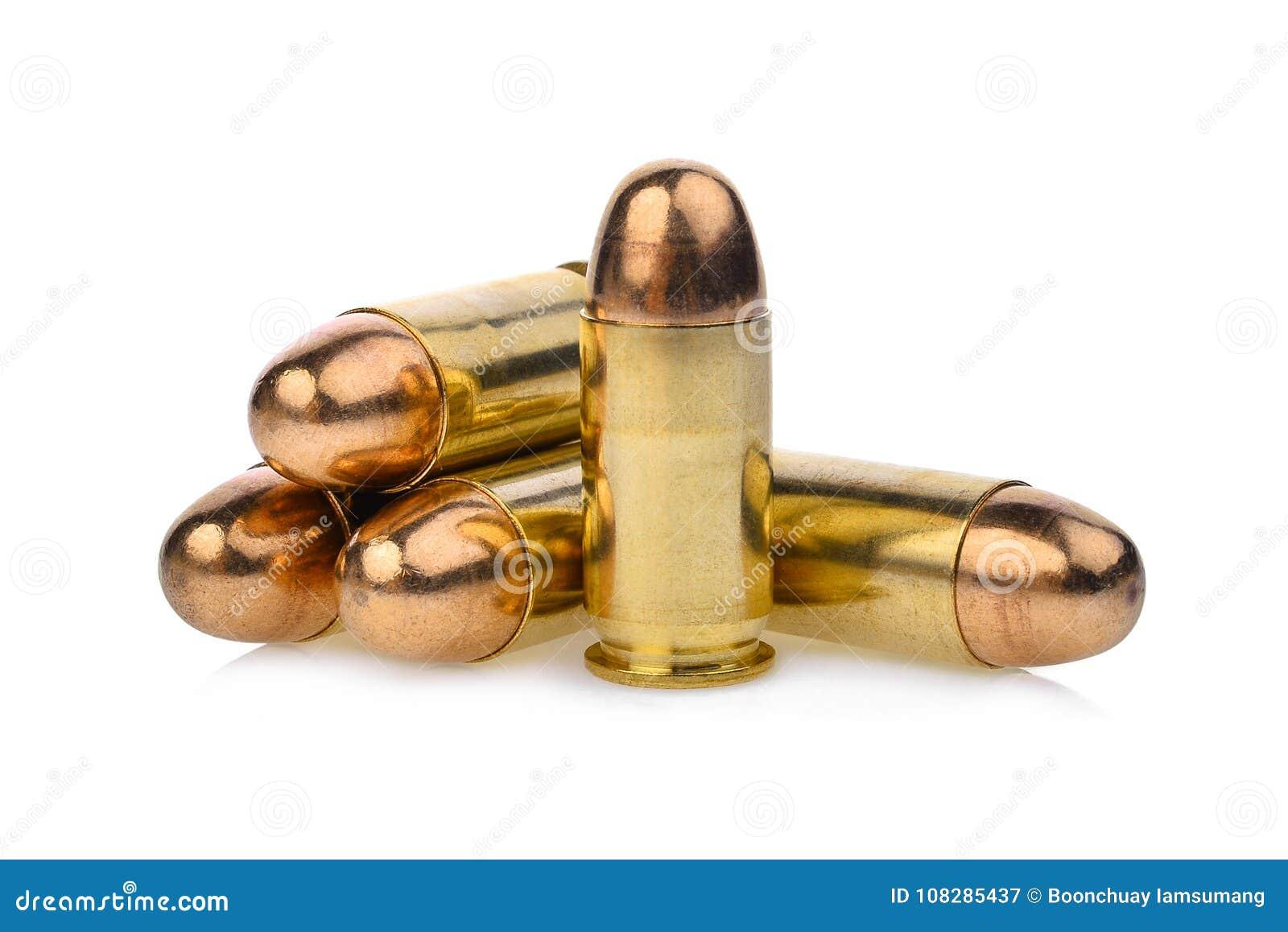 Kassetten von 45 ACP-Pistolen Munition, Vollmantelgeschoss