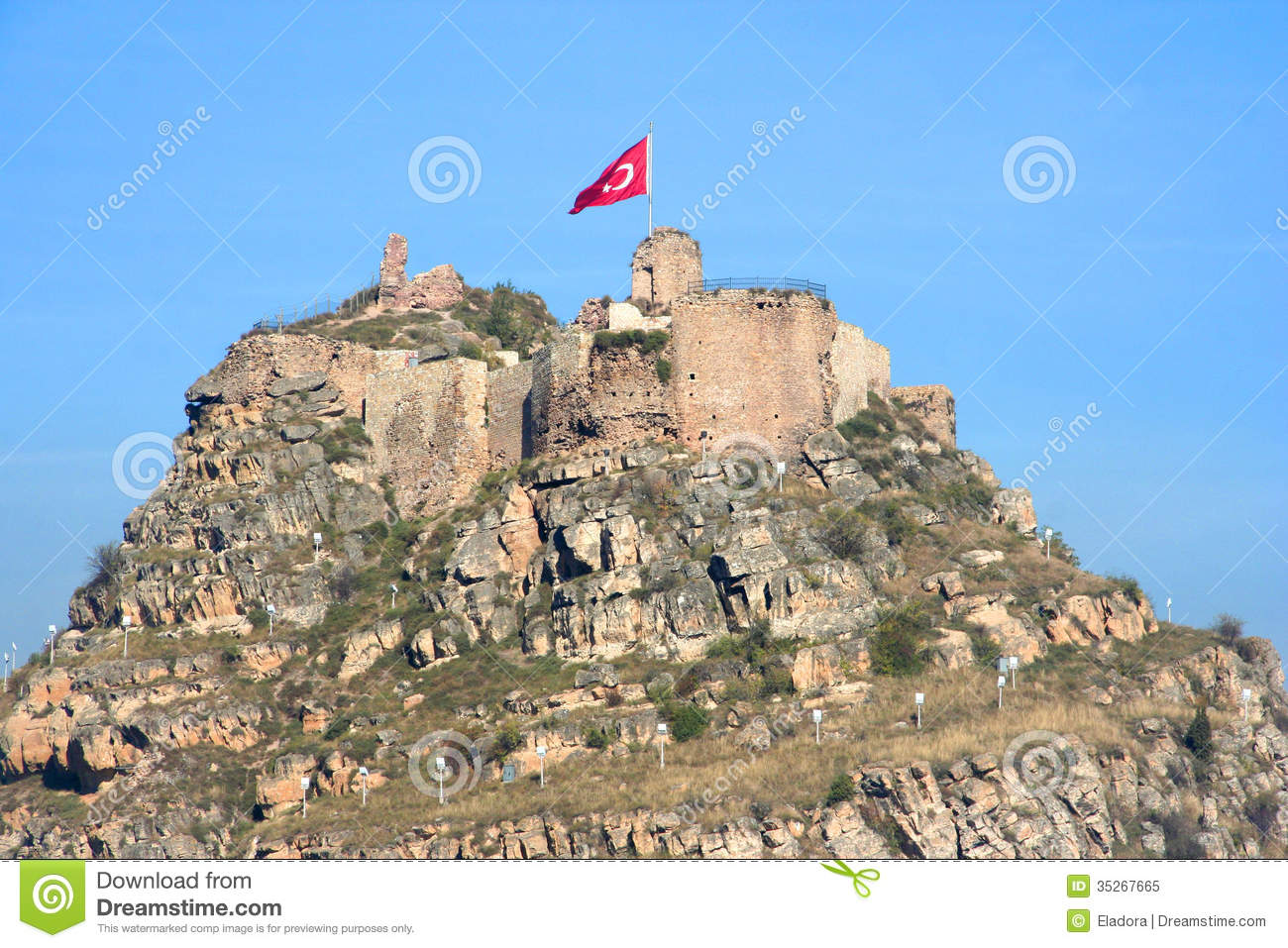 Kastamonu Castle Royalty Free Stock Photo - Image: 35267665
