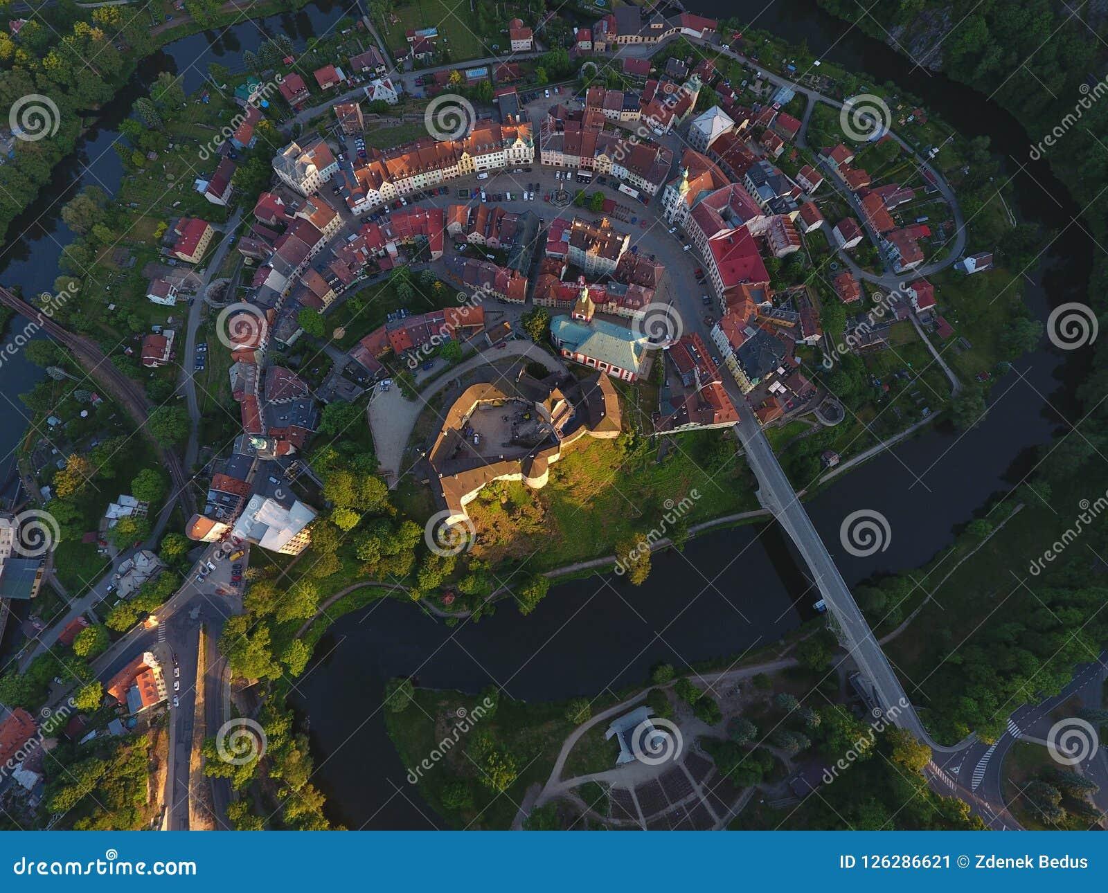 Kasteel en Loket-Stad