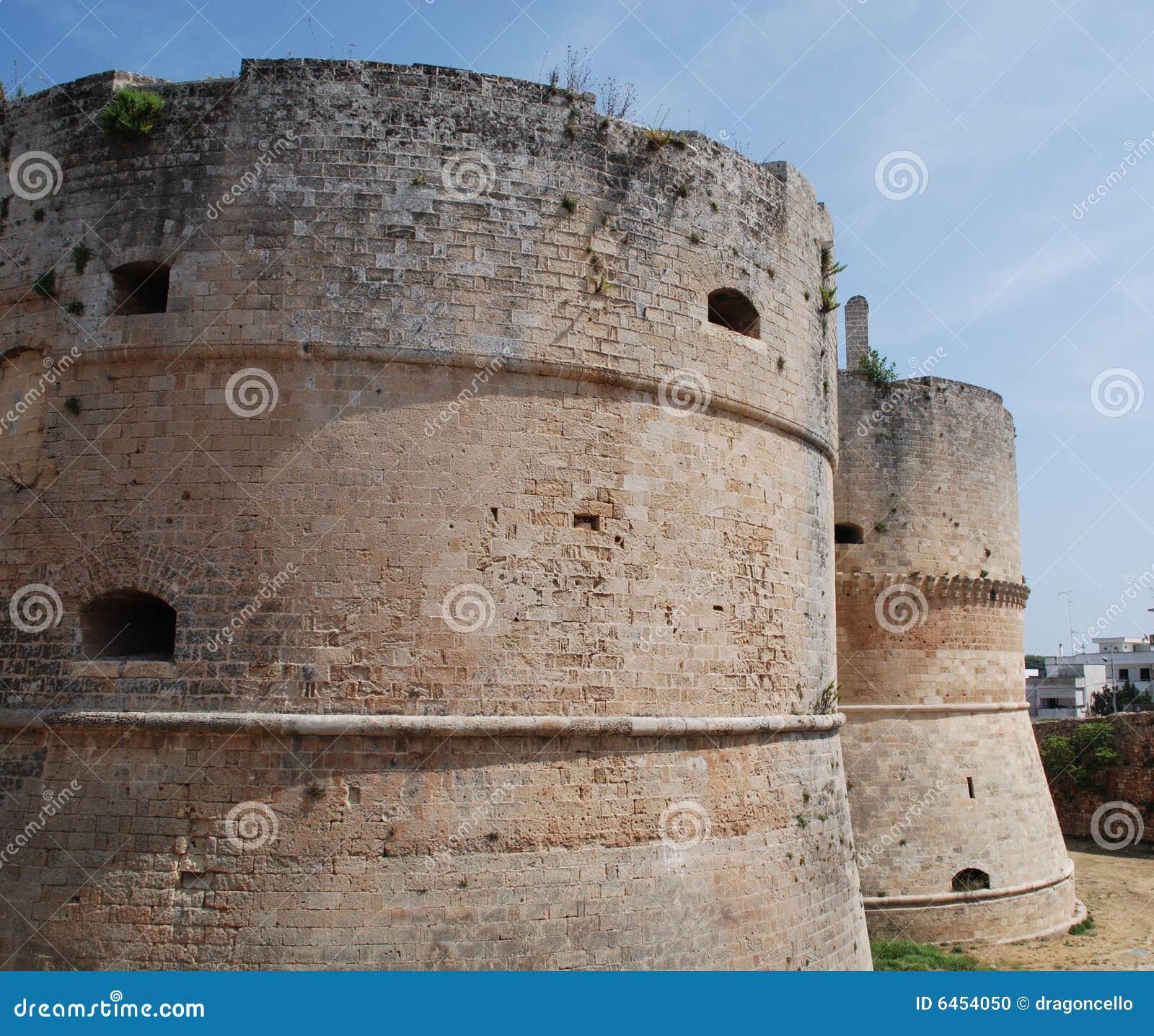 Kasteel in Otranto