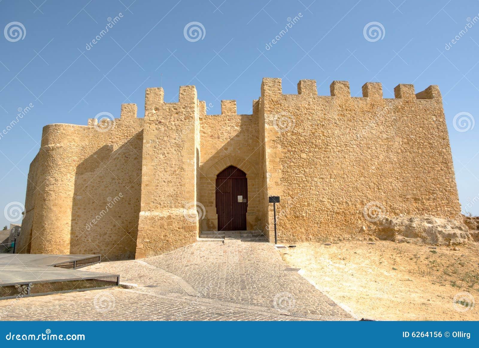 Kasteel van Chiaramonte in Sicilië