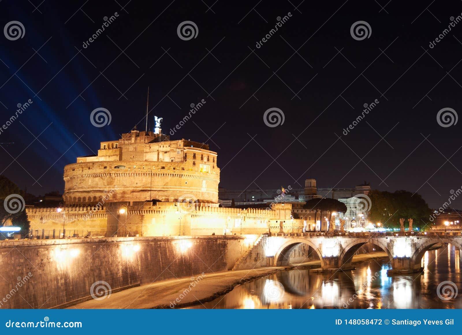 Kasteel van de Heilige Engel in Rome