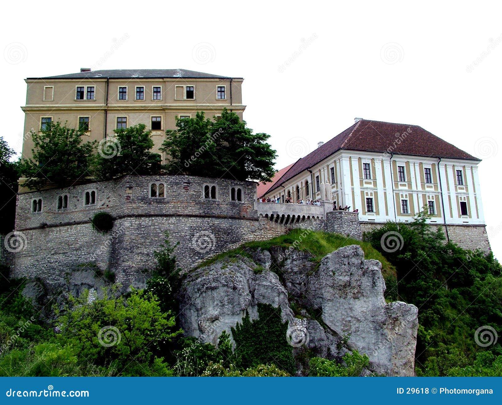Download Kasteel van Veszprem stock foto. Afbeelding bestaande uit vesting - 29618