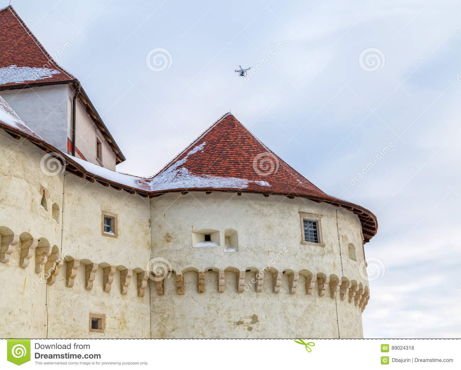 Kasteel Veliki Tabor in Kroatië