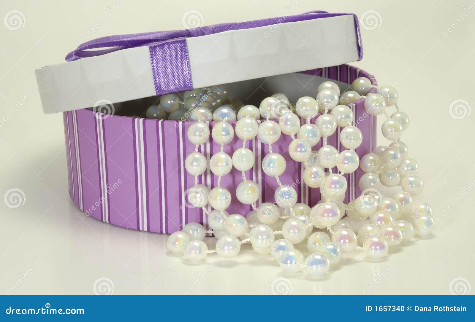 Kasten Perlen