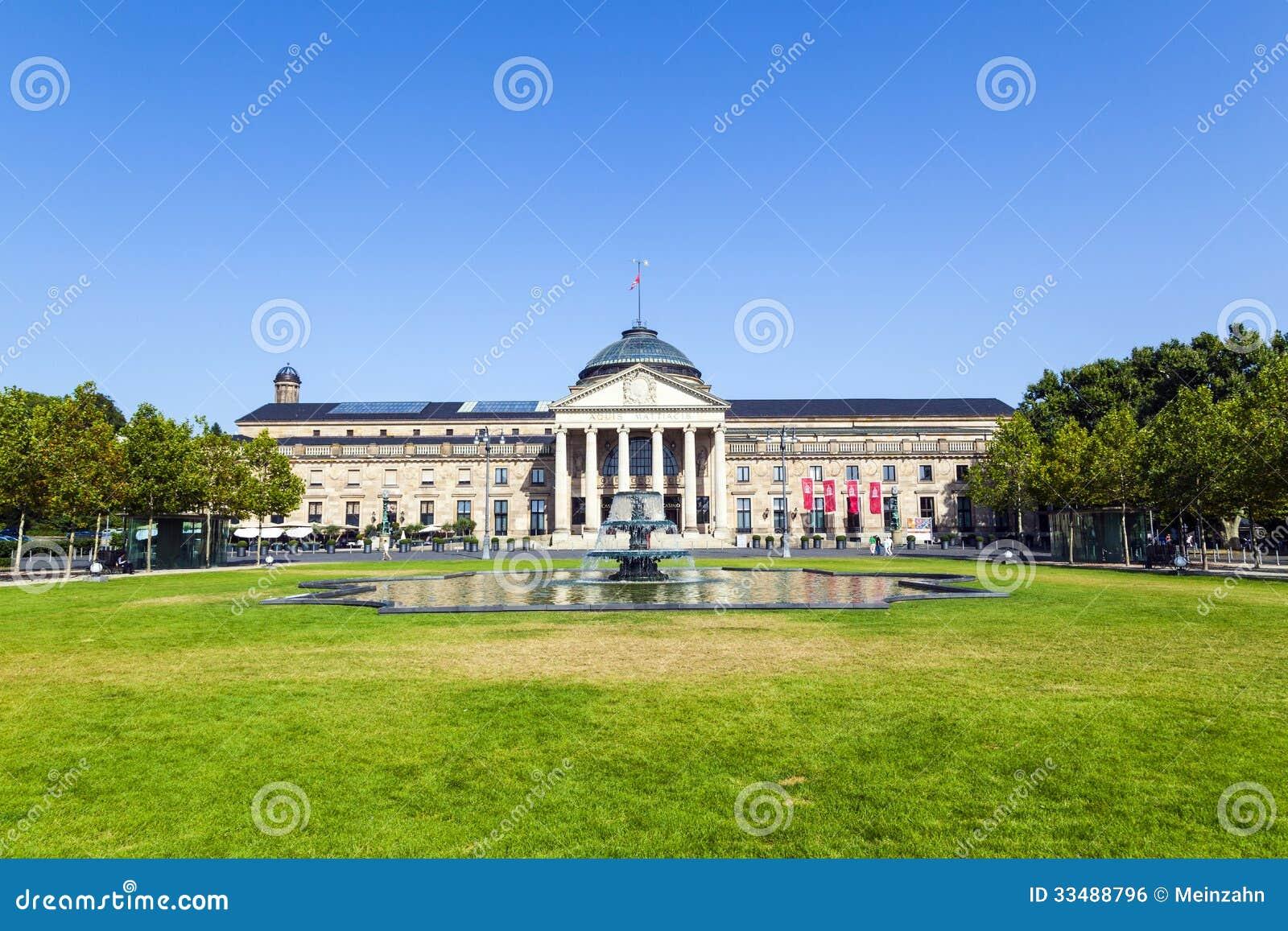 Kasyno w Wiesbaden, Niemcy/
