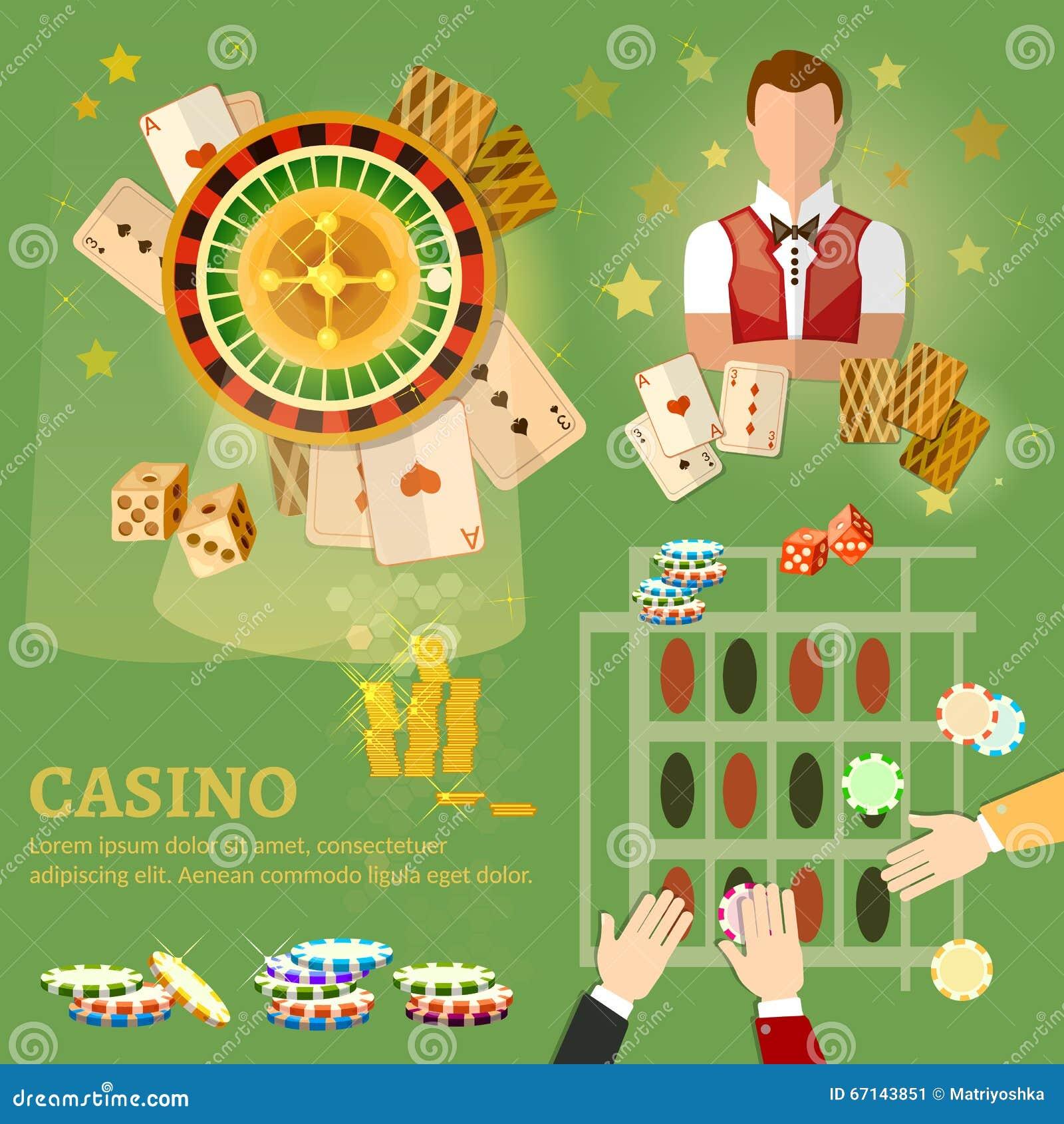 Kasynowi partii pokeru karta do gry
