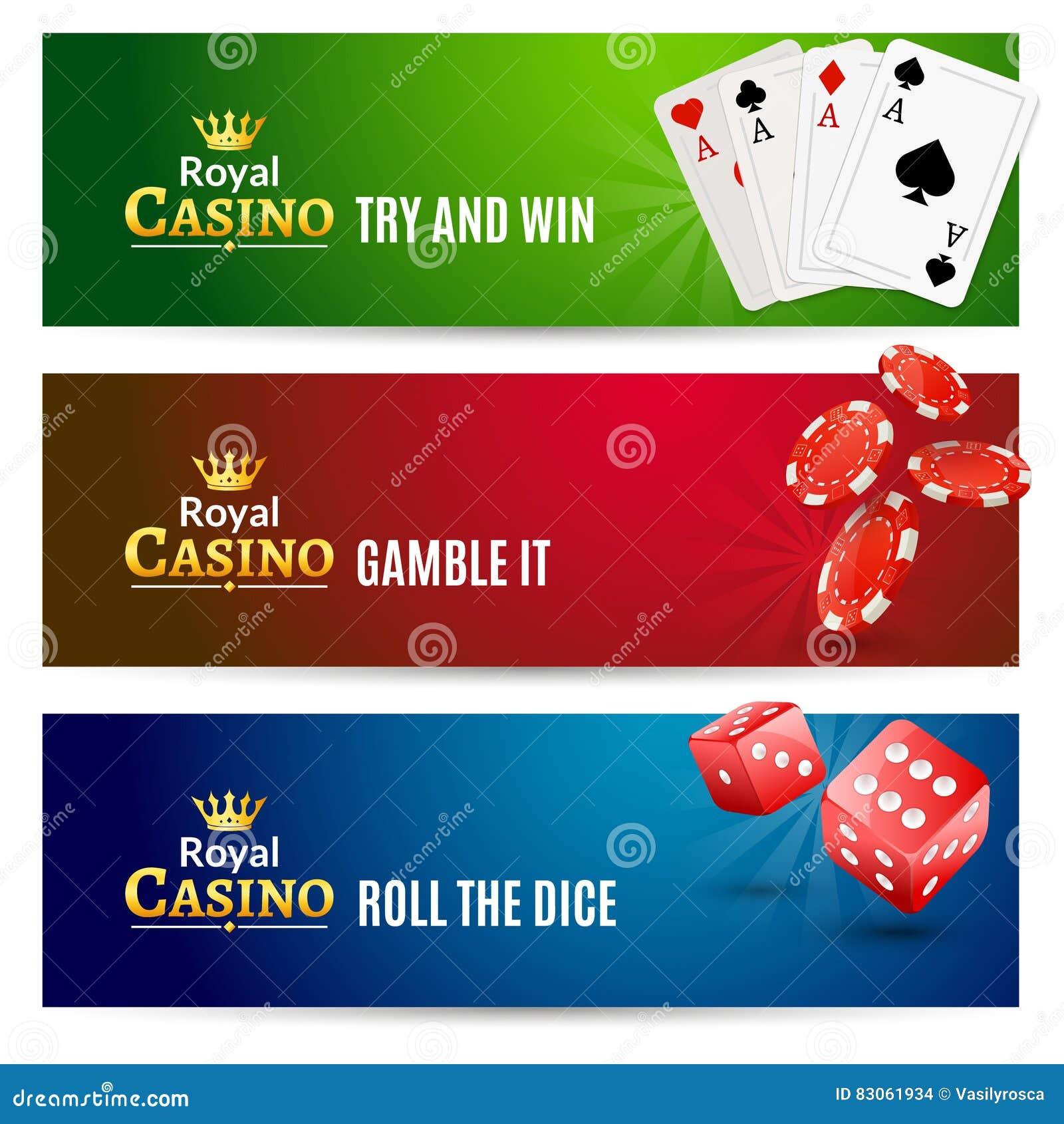 Kasynowy sztandar uprawia hazard set Grzebak ruleta