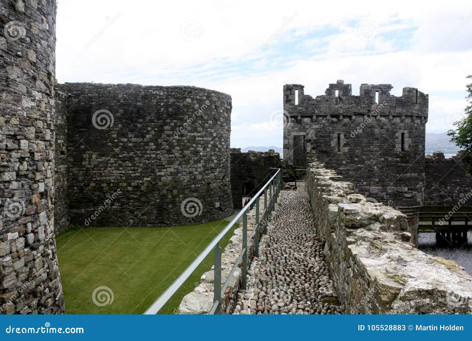 Kasztelów ramparts i ściany