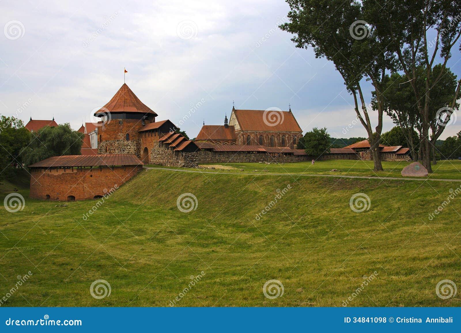 Kasztel Kaunas w Lithuania