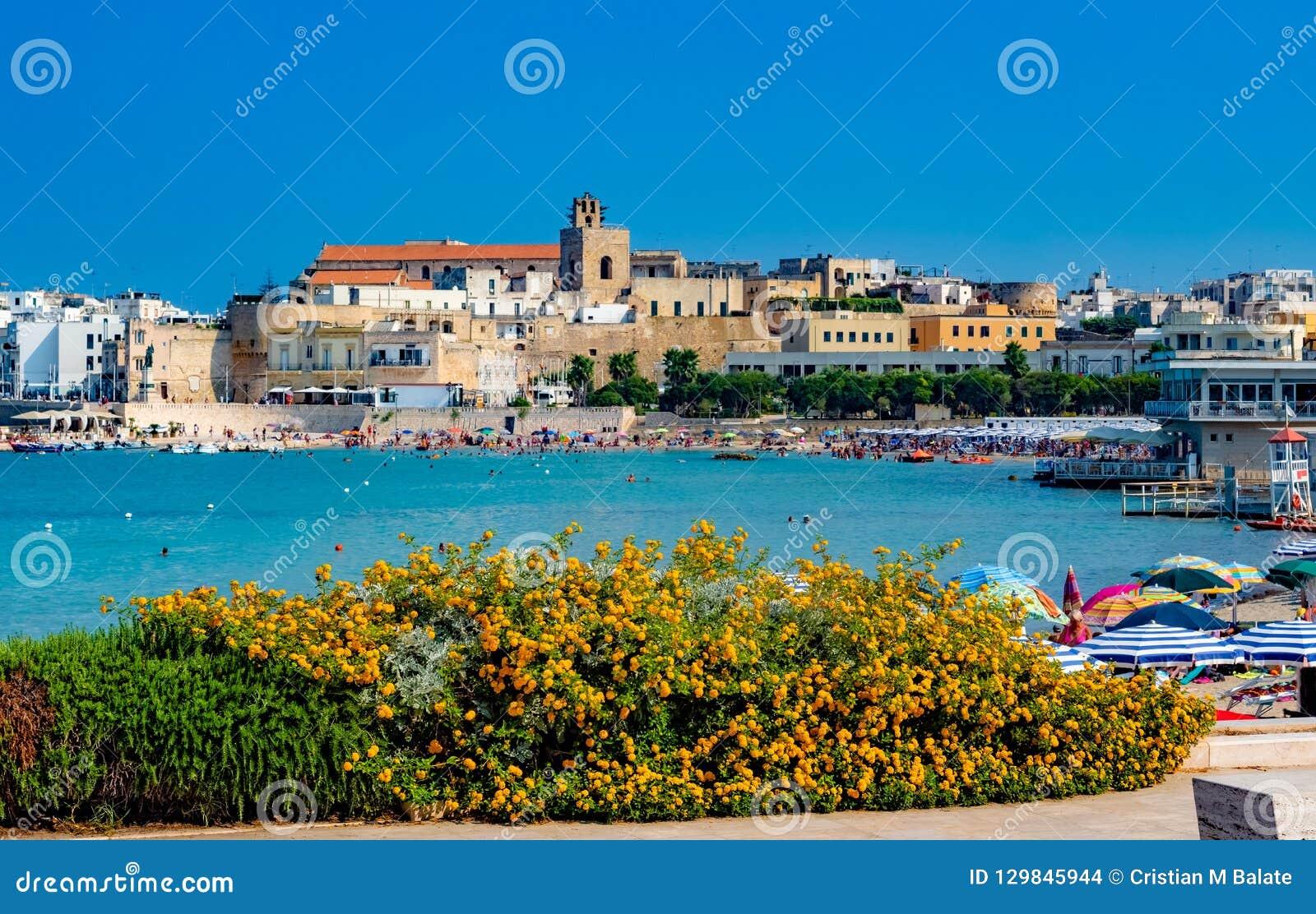 Kasztel Otranto miasto, Włochy