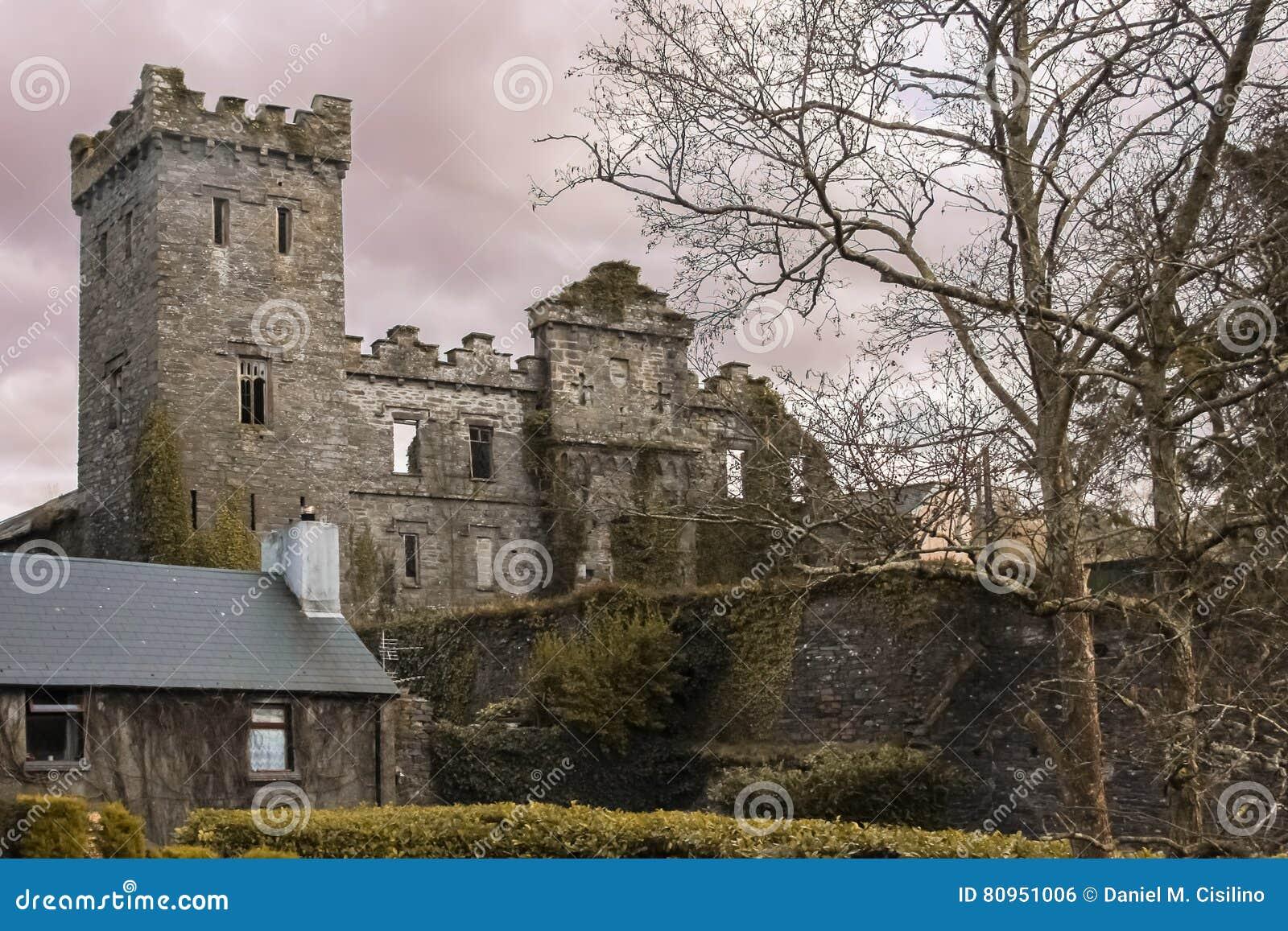 Kasztel ruiny Macroom Irlandia