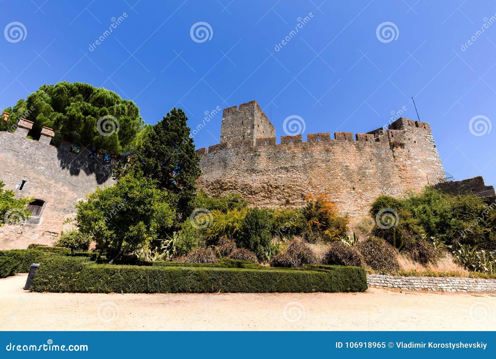 Kasztel rycerza templariusz w Tomar, Portugalia