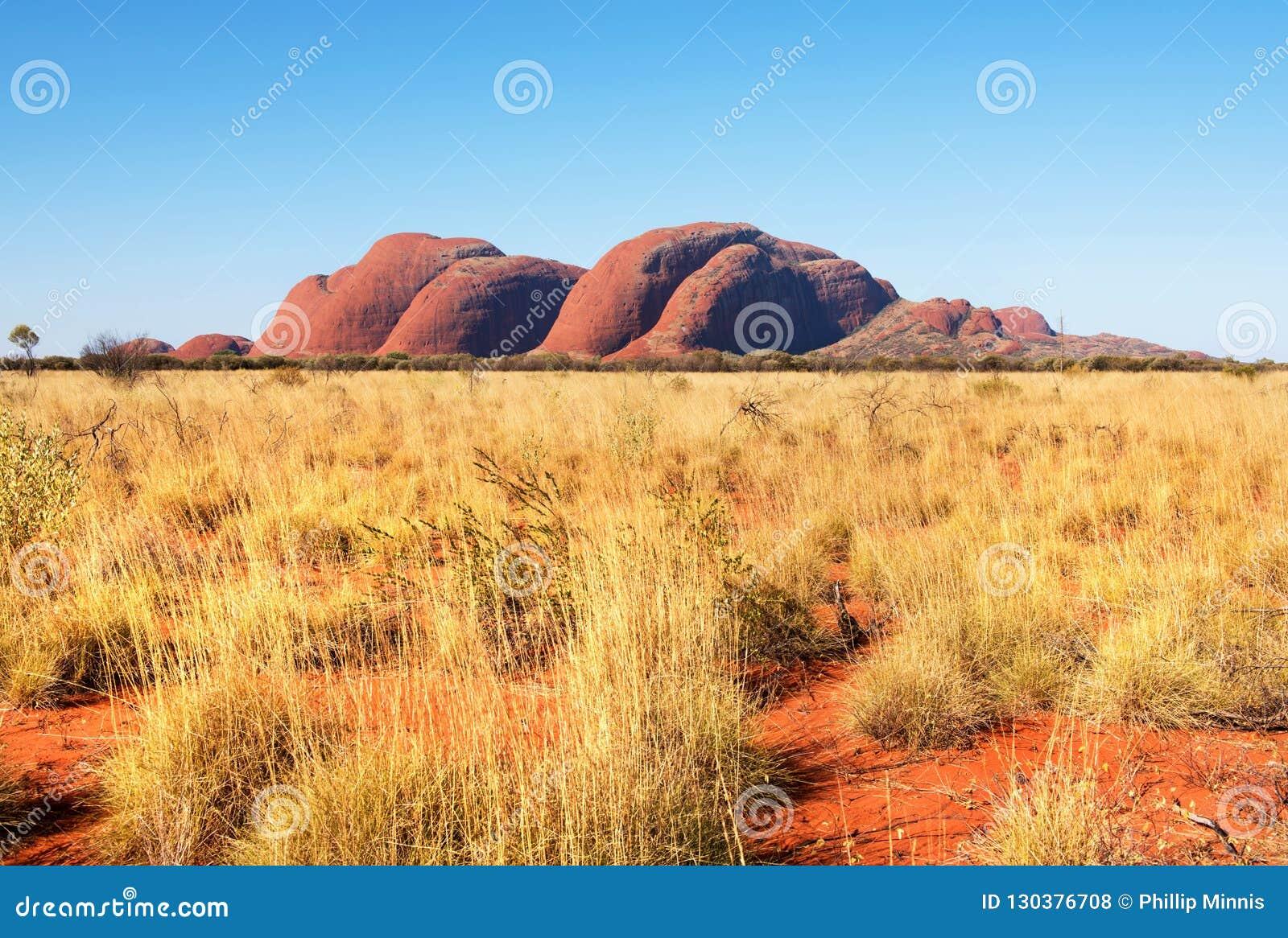 Kat Tjuta Olgas, terytorium północne, Australia